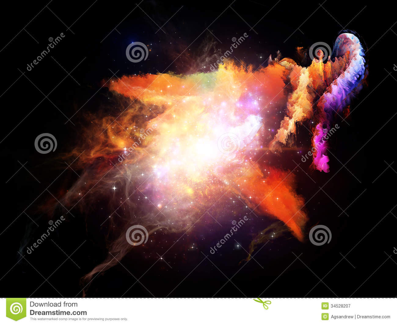Advance Of Design Nebulae Royalty Free Stock Photography ...