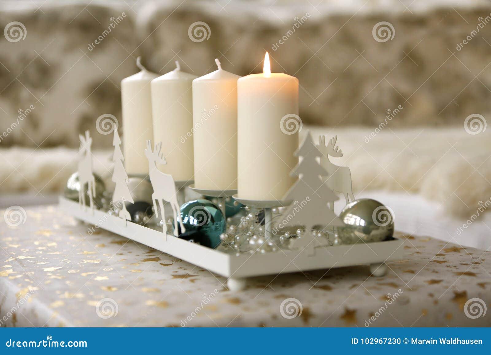 Advent Christmas Decoration Stock Photo Image Of Gold Celebration 102967230