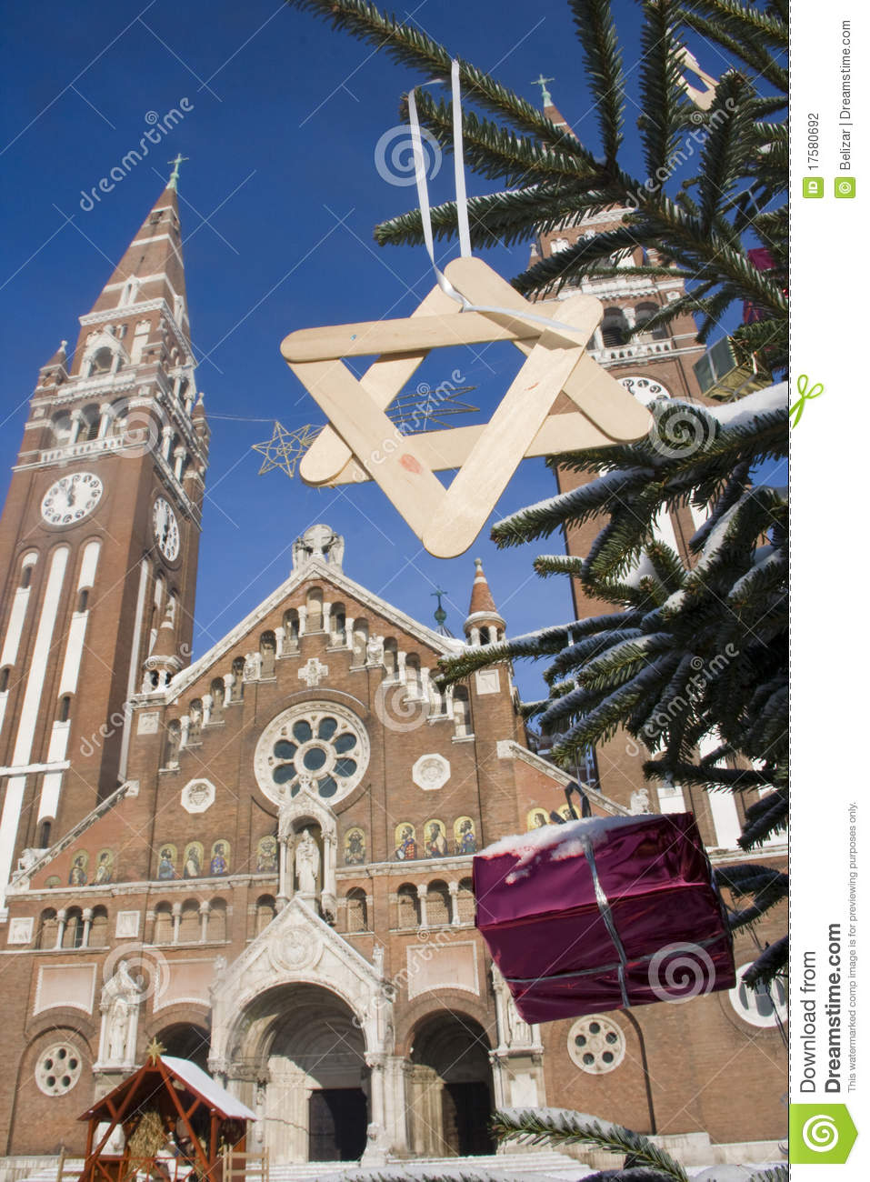 Advent in Szeged, Hungary