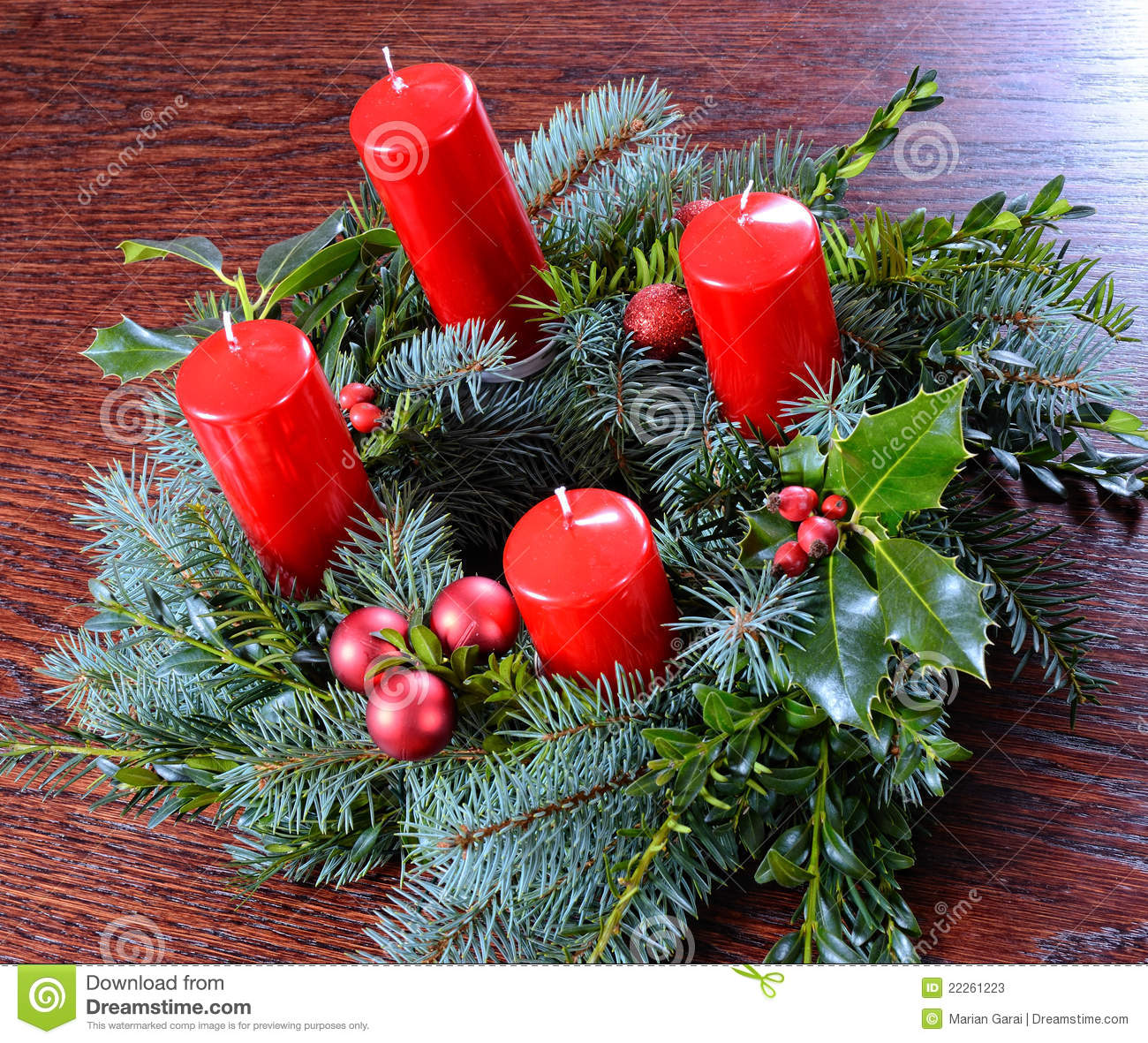 advent wreath with four candles stock image image of. Black Bedroom Furniture Sets. Home Design Ideas