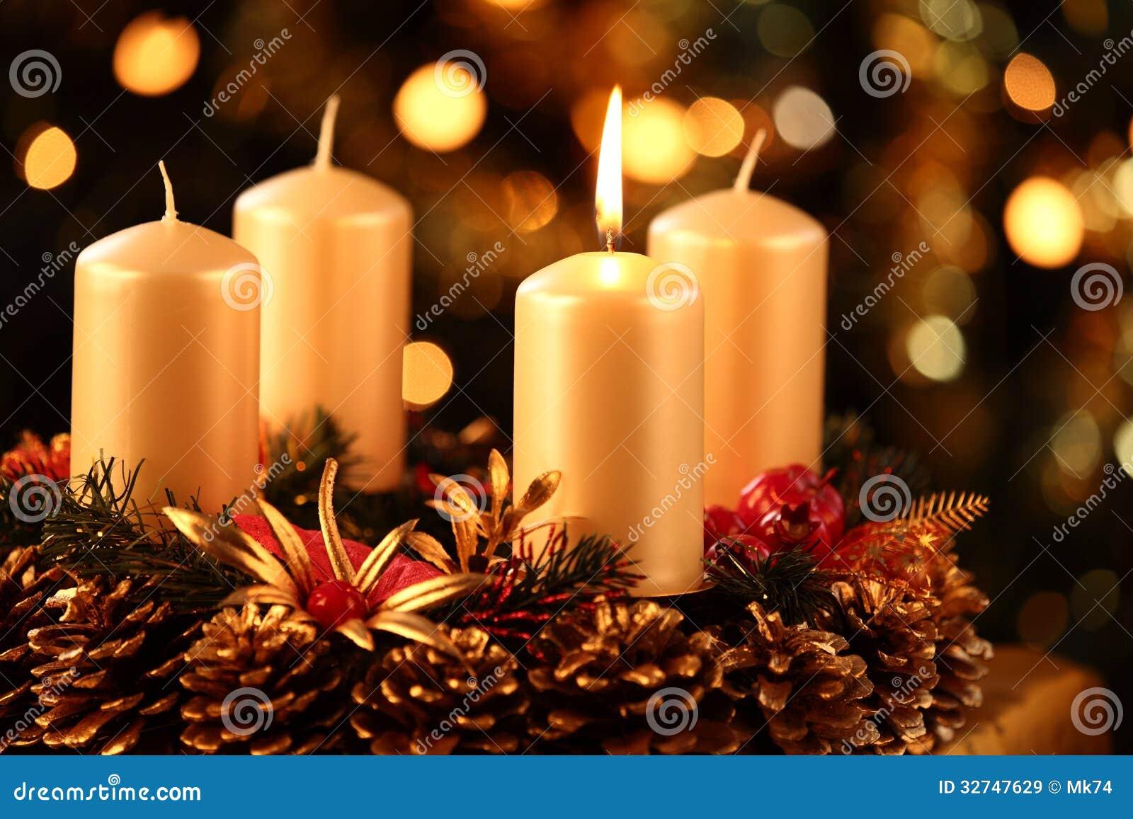 advent wreath stock image image of focus close holidays. Black Bedroom Furniture Sets. Home Design Ideas