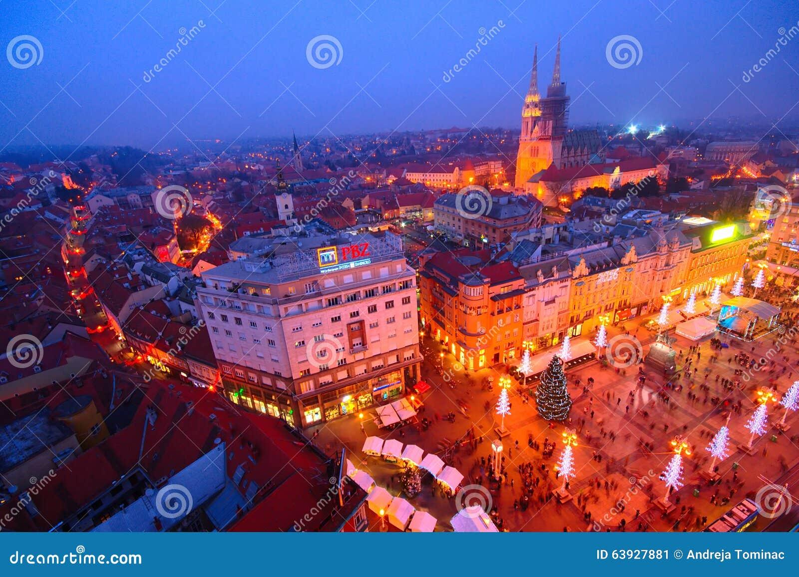 Advent In Zagreb, Croacia