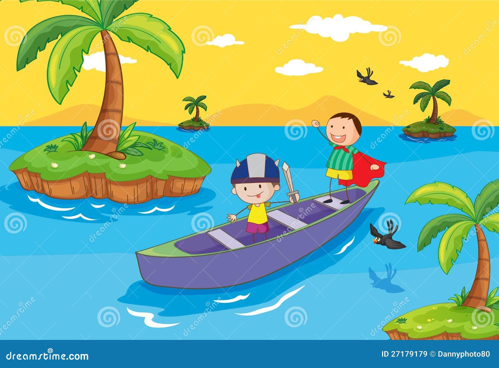 катаемся на лодке играть