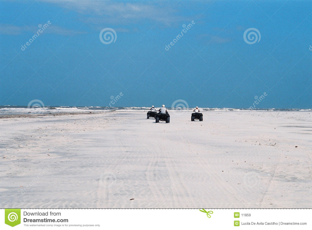 Adventure at the deserted beach