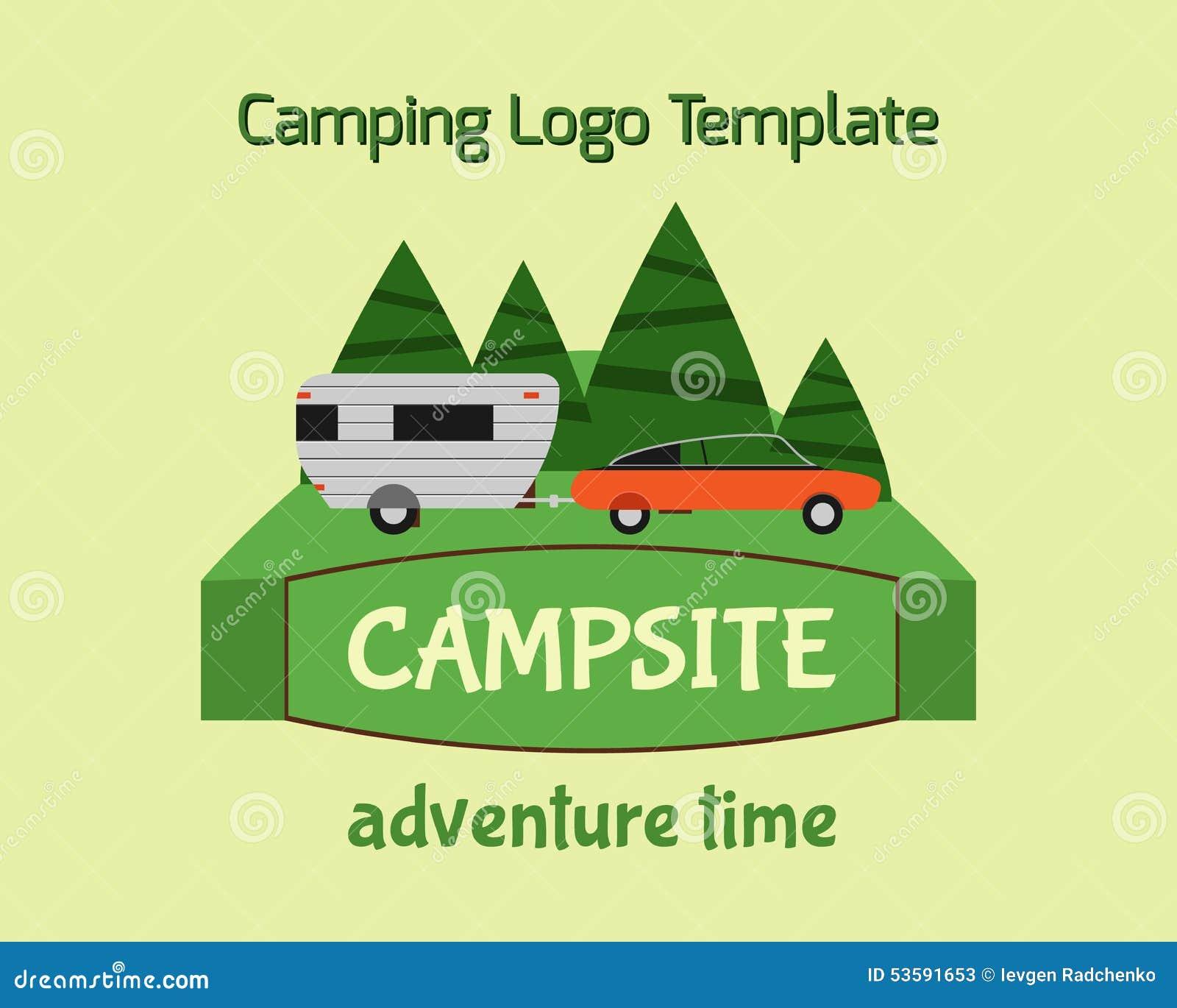 Adventure Tourism Travel Logo Vintage Labels design vector templates ...