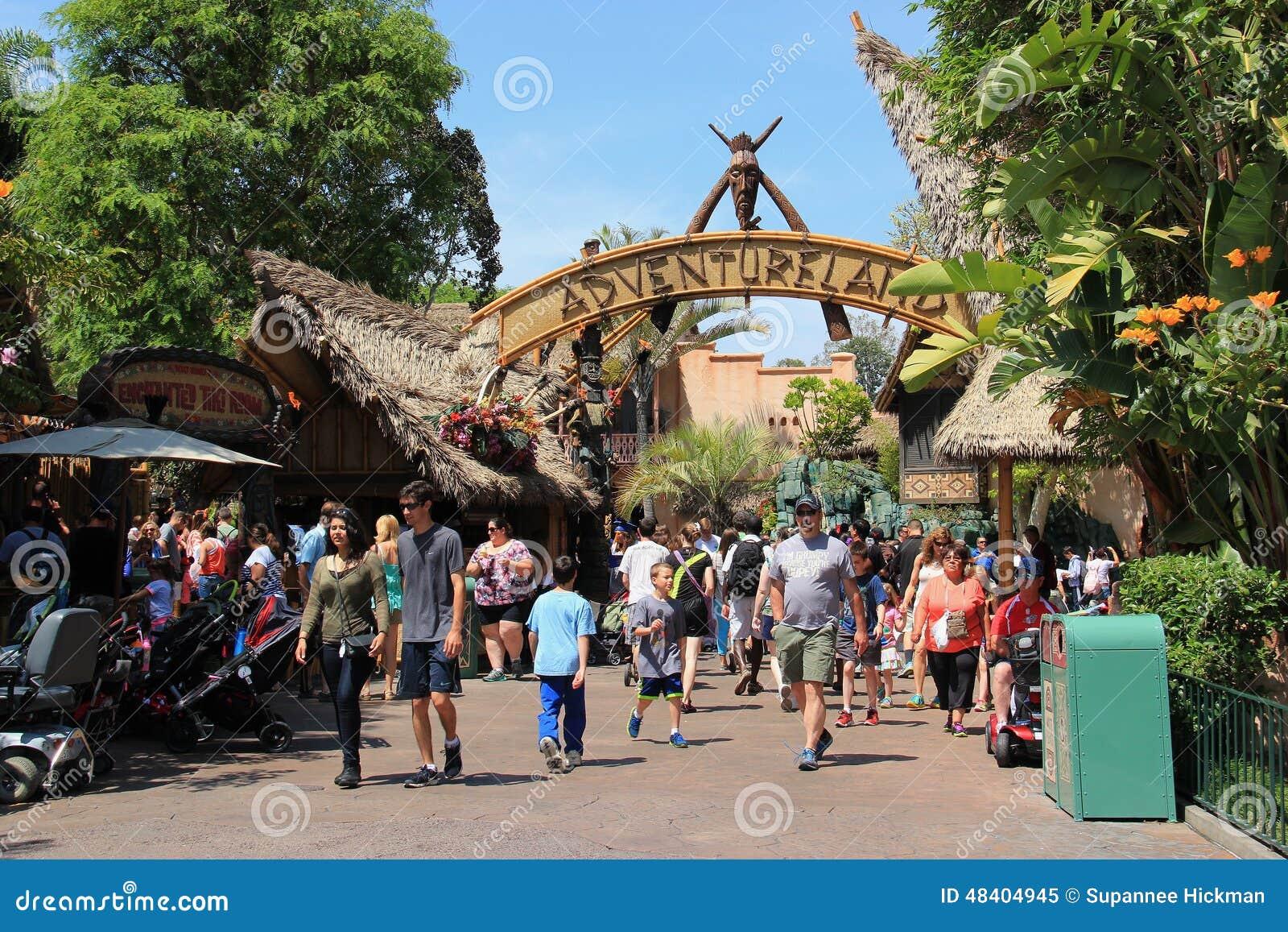 Adventureland At Disneyland Editorial Image Image Of