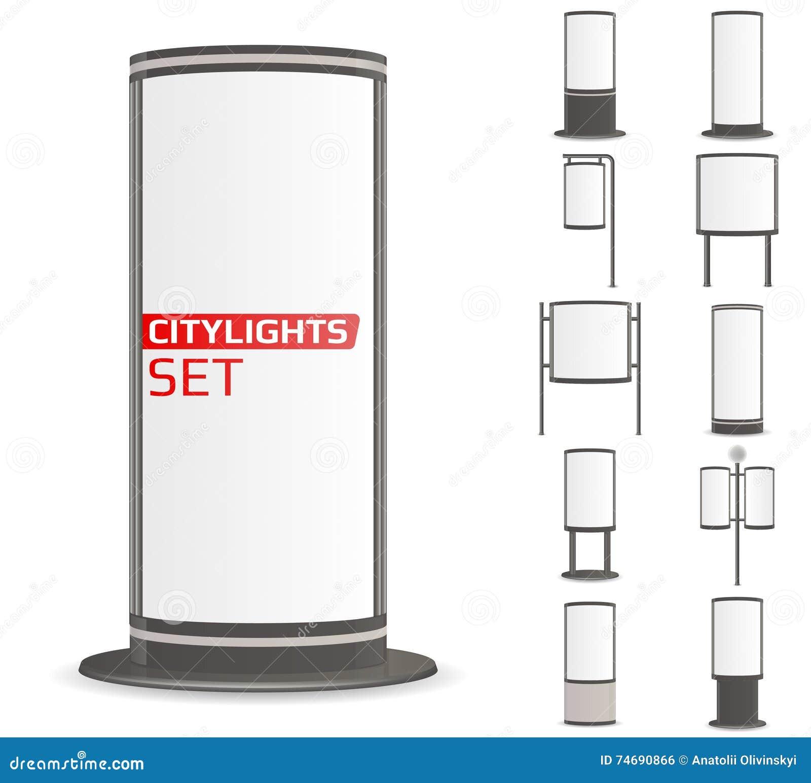 Adverteer citylights plaats