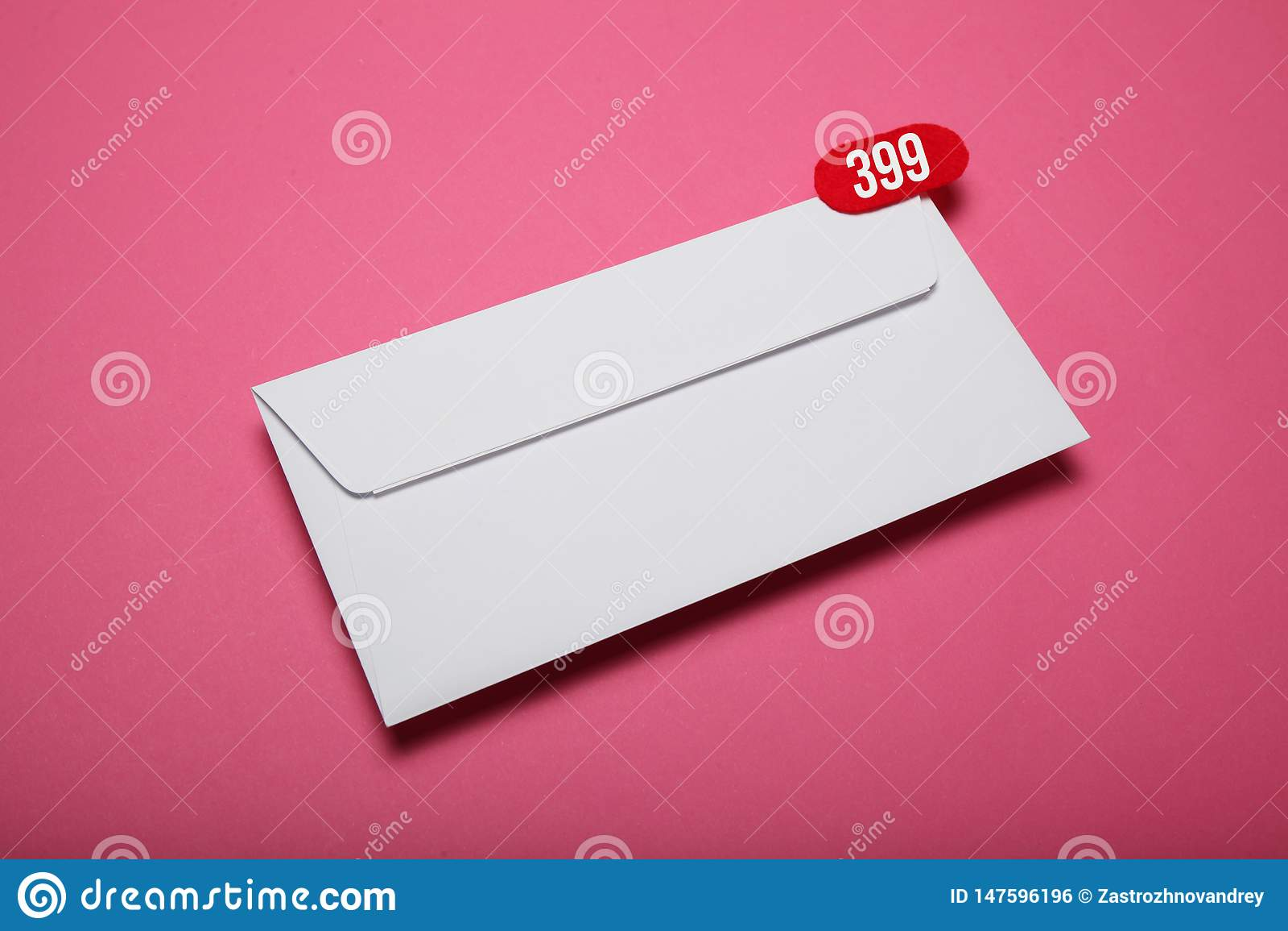 Advertisement address correspondence, blank card. Advertising