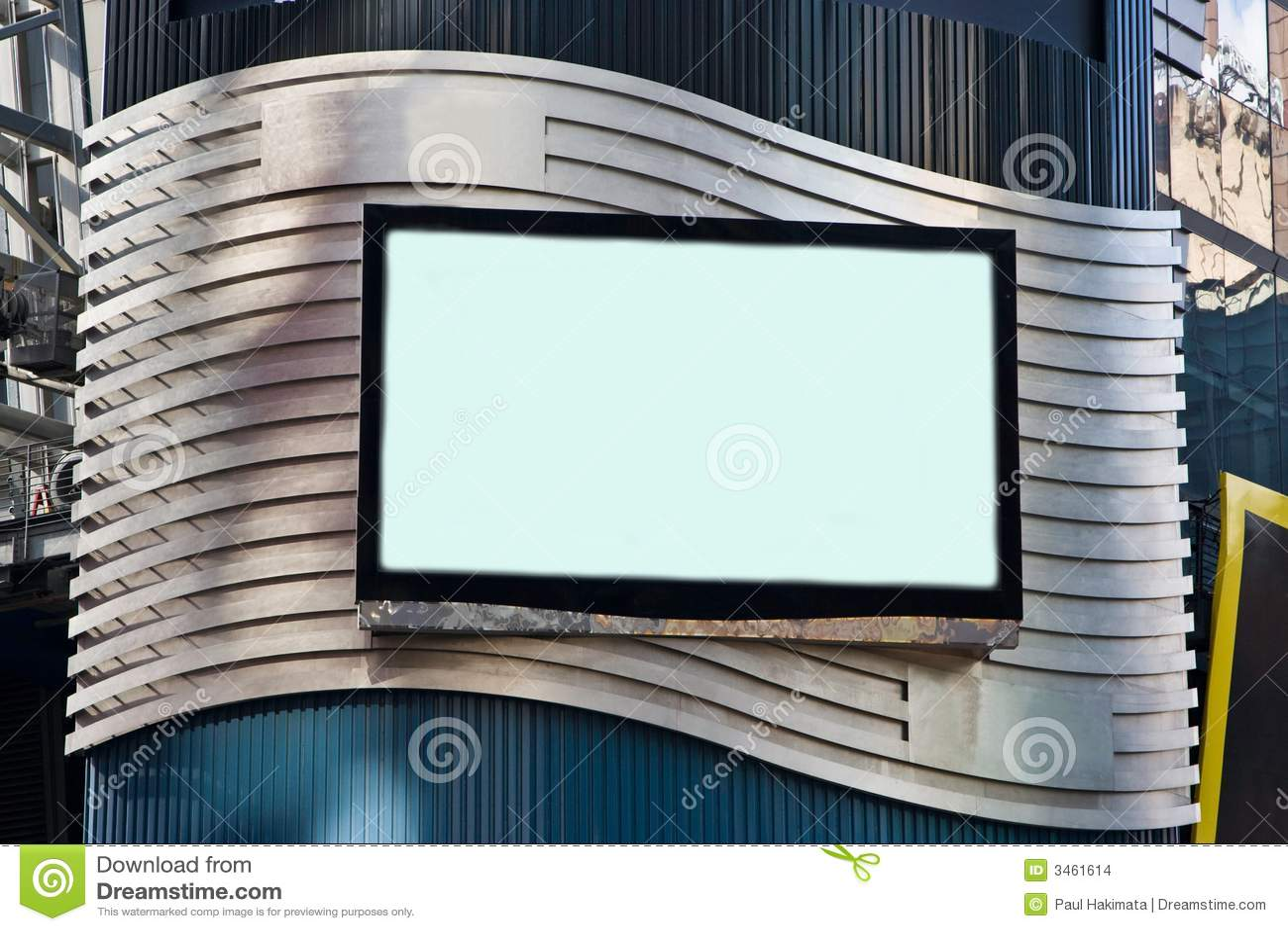 Advertisement LCD TV Billboard