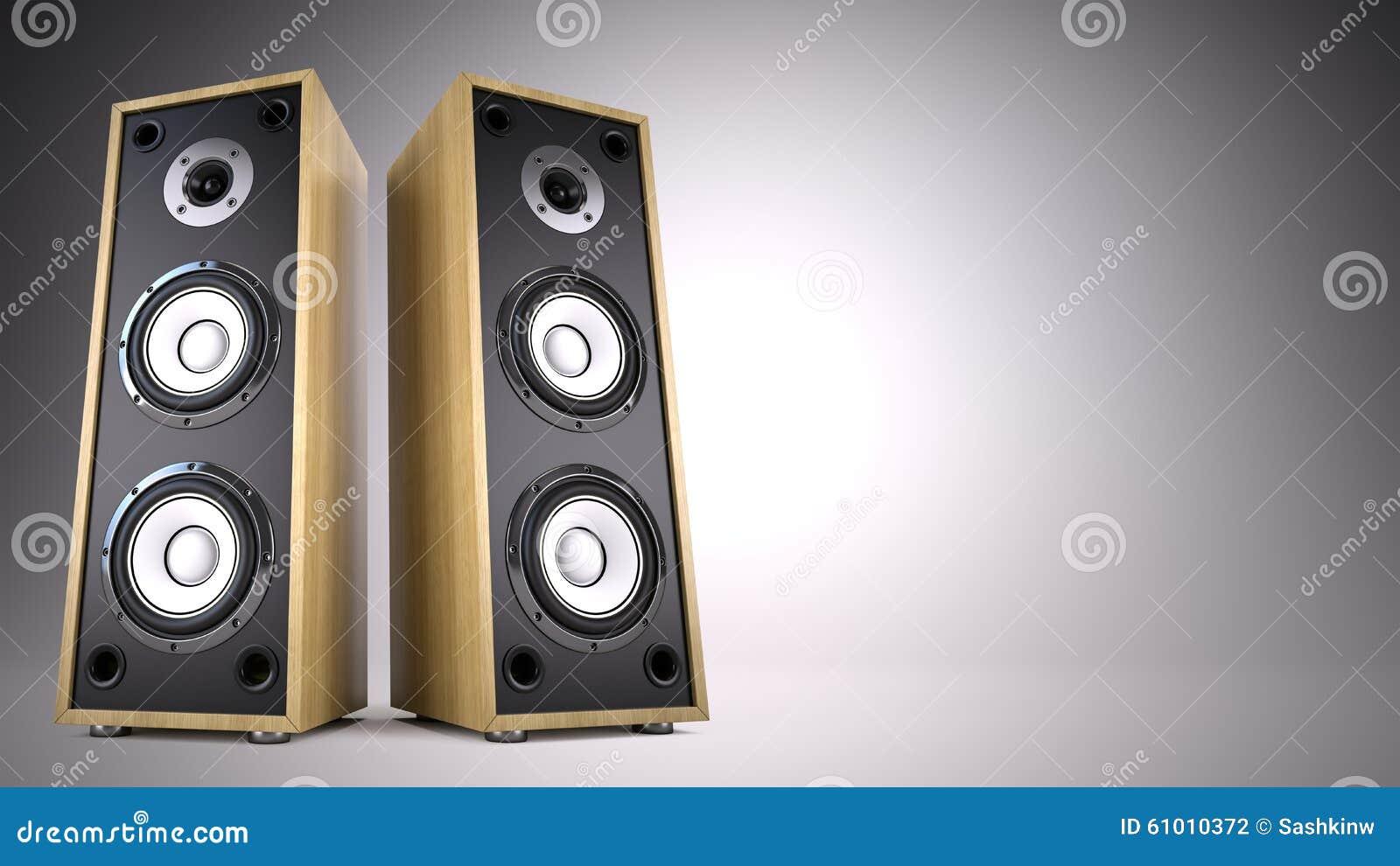 Advertisement, Music, Concert, Audio Concept Stock Illustration