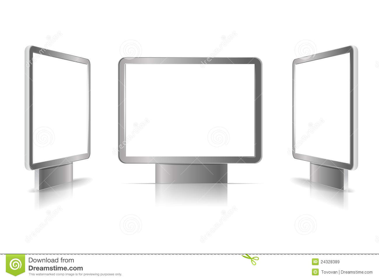 Advertising Boards Royalty Free Stock Images Image 24328389