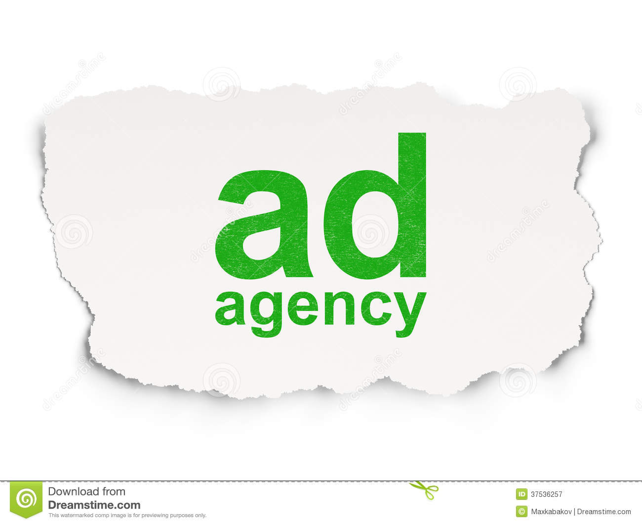 advertising agency background concept ...
