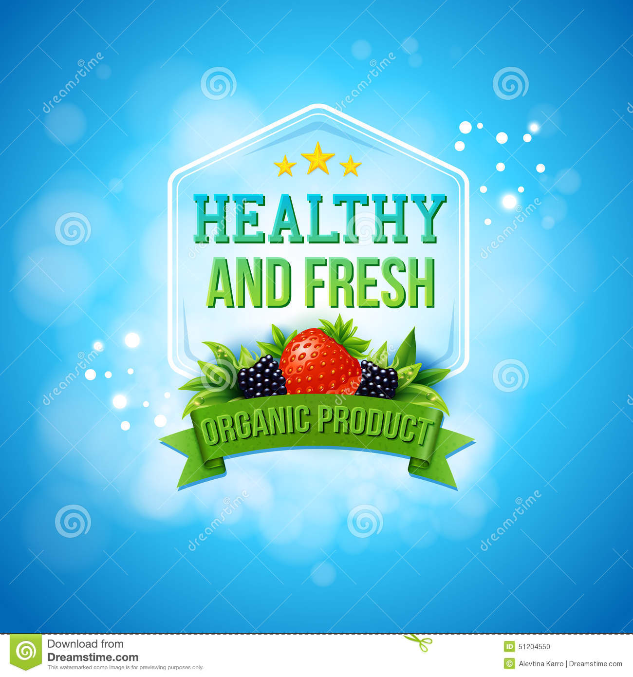 Advertising Poster For Fresh Farm Products Stock Vector - Image ...