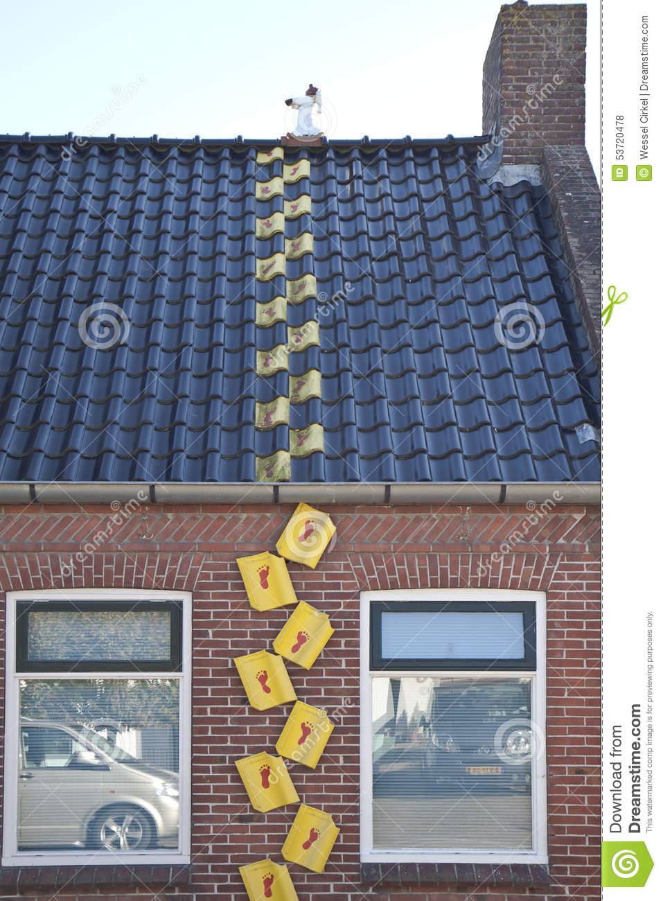 Advertising For Roofing Business, Garnwerd, Holland
