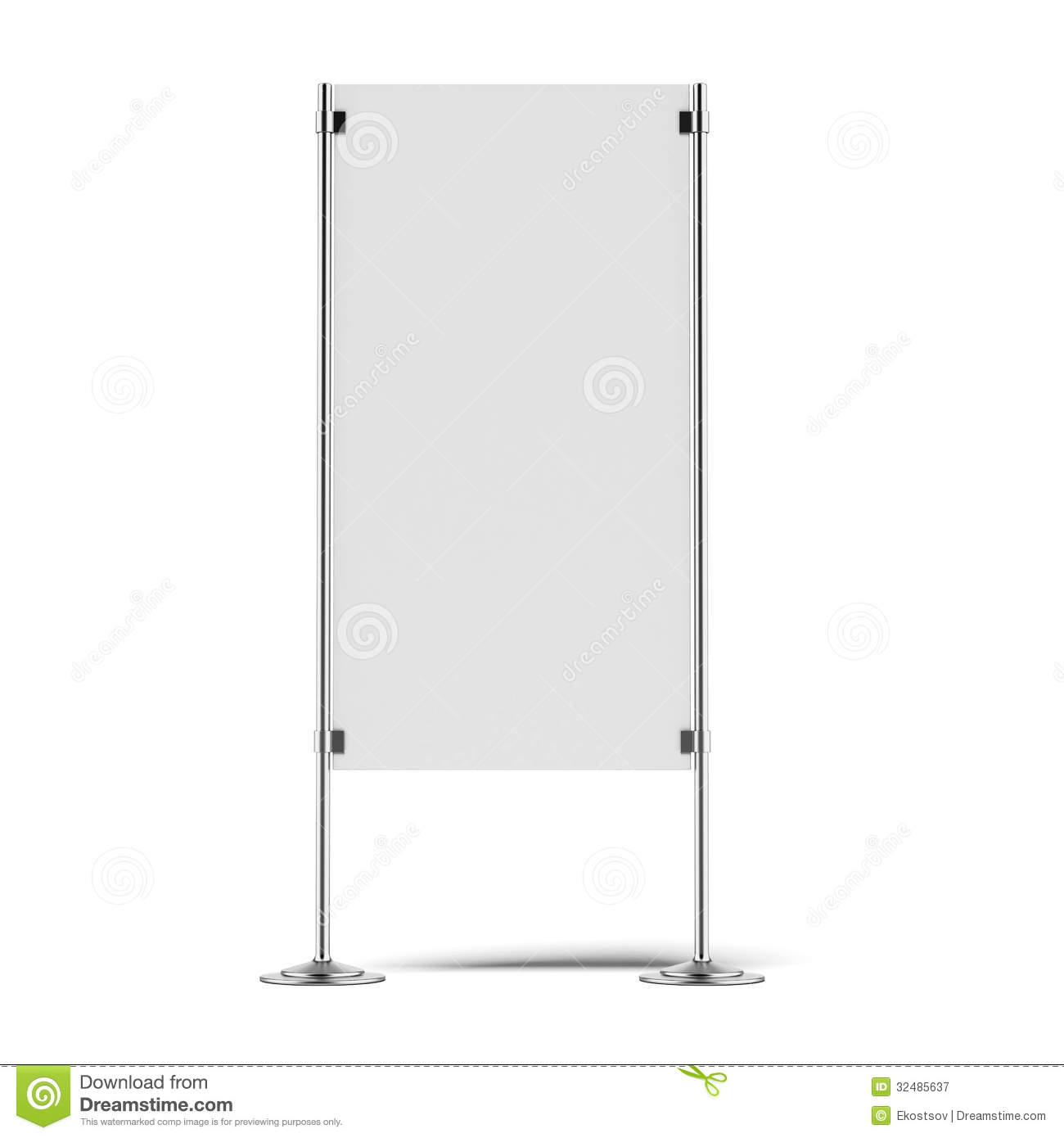Marketing Exhibition Stand Vector : Advertising stand royalty free stock photography image