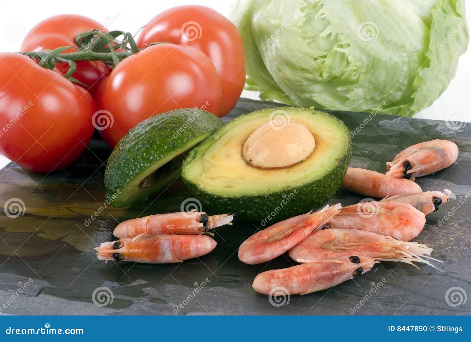 Advocado shrimp