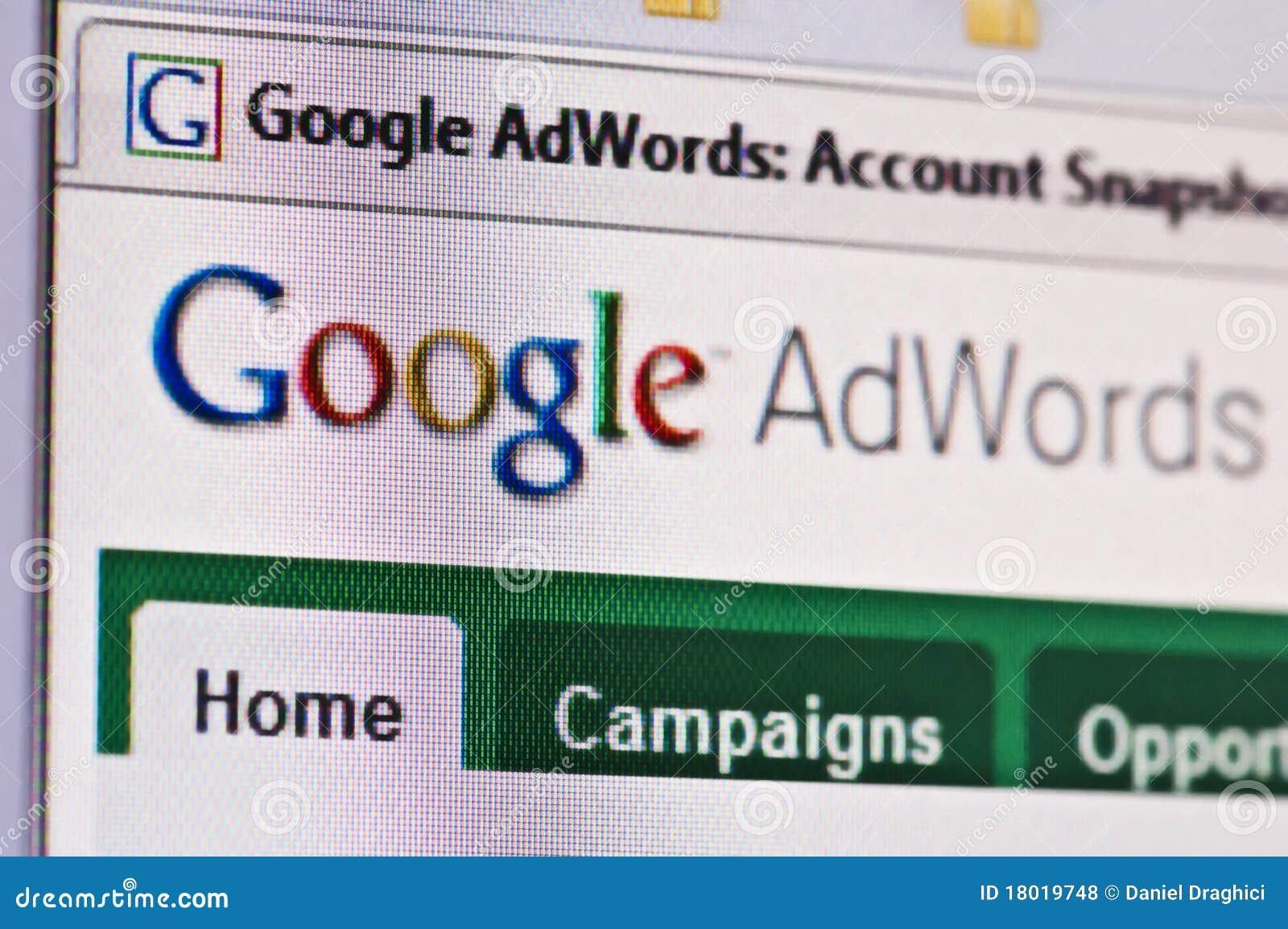 Adwords de Google