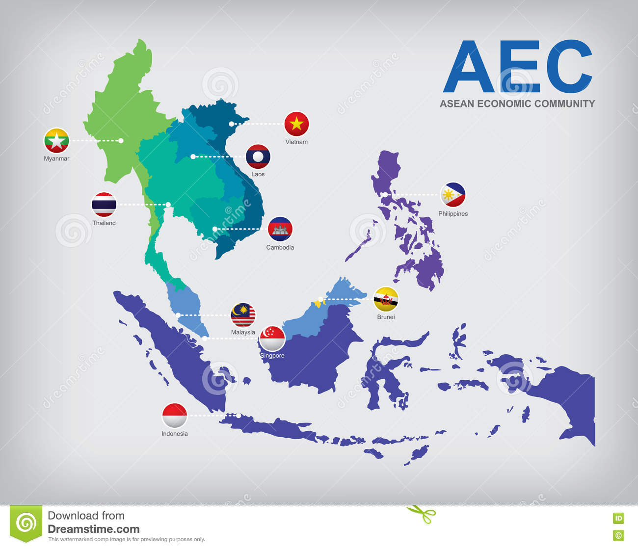 Figure ASEAN economic community at a glance
