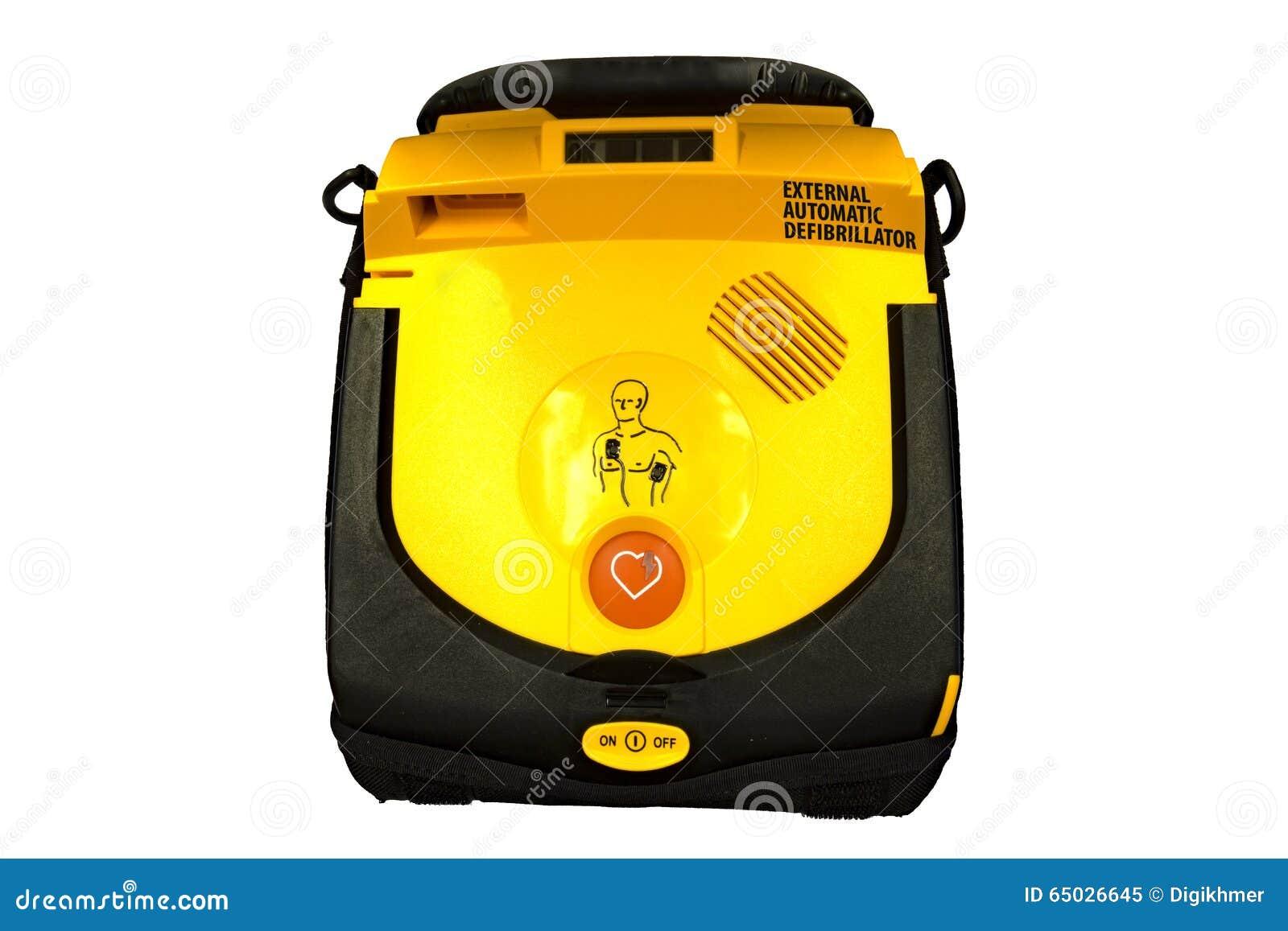 Aed automatyzujący defibrillator external