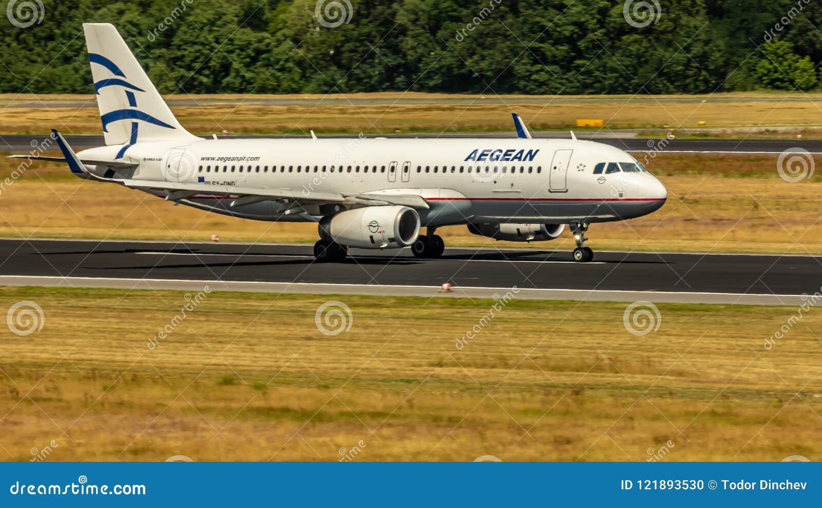 Aegean Airlines, Airbus A320, aerei