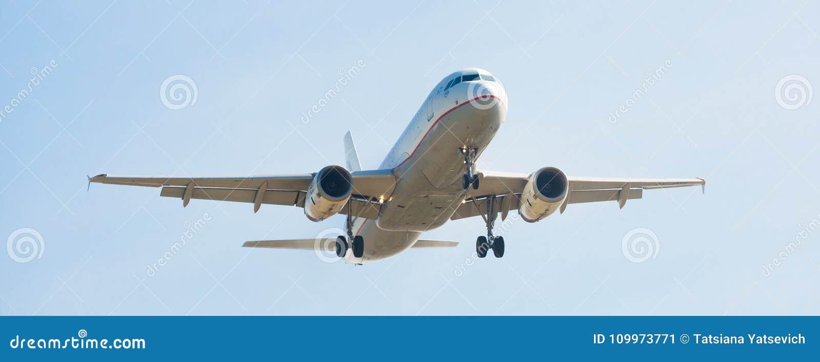 Aegean Airlines-vliegtuig het landen