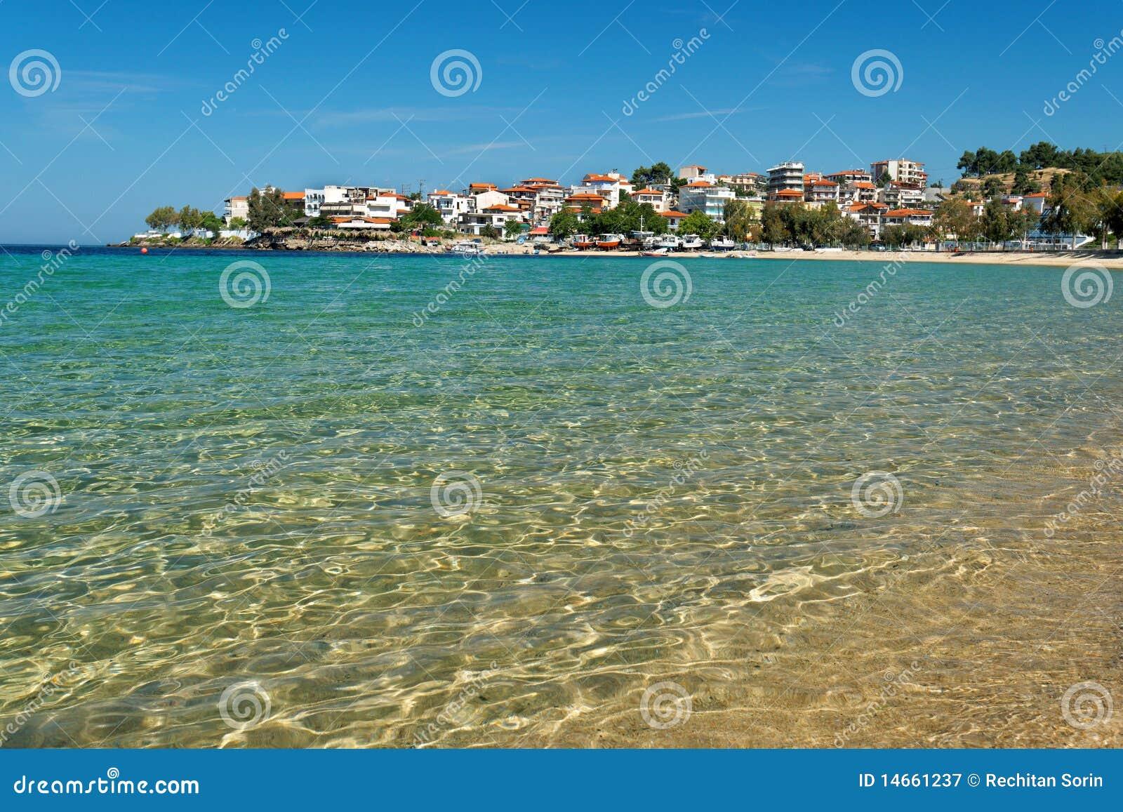 Aegean beach