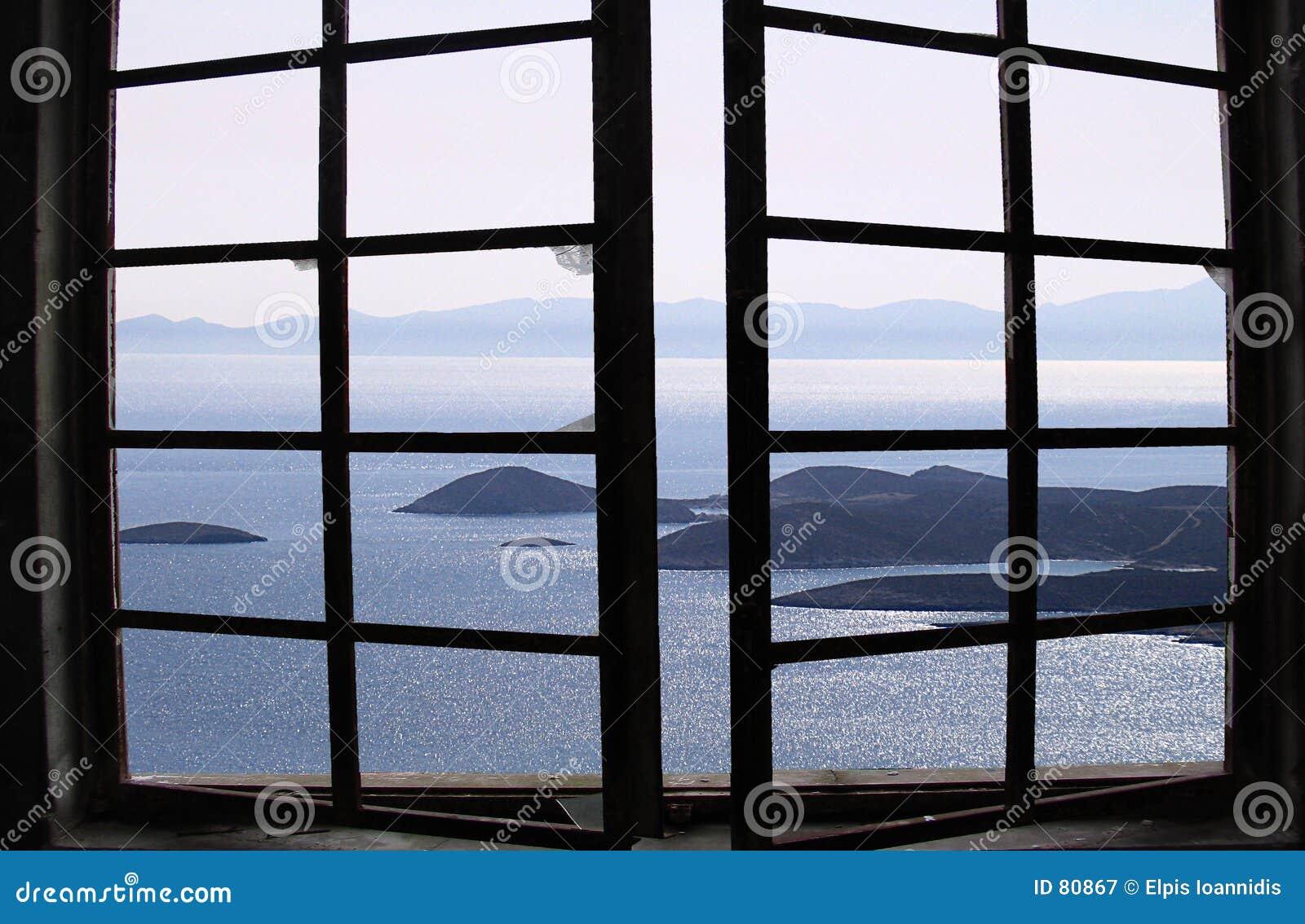 Aegean widok
