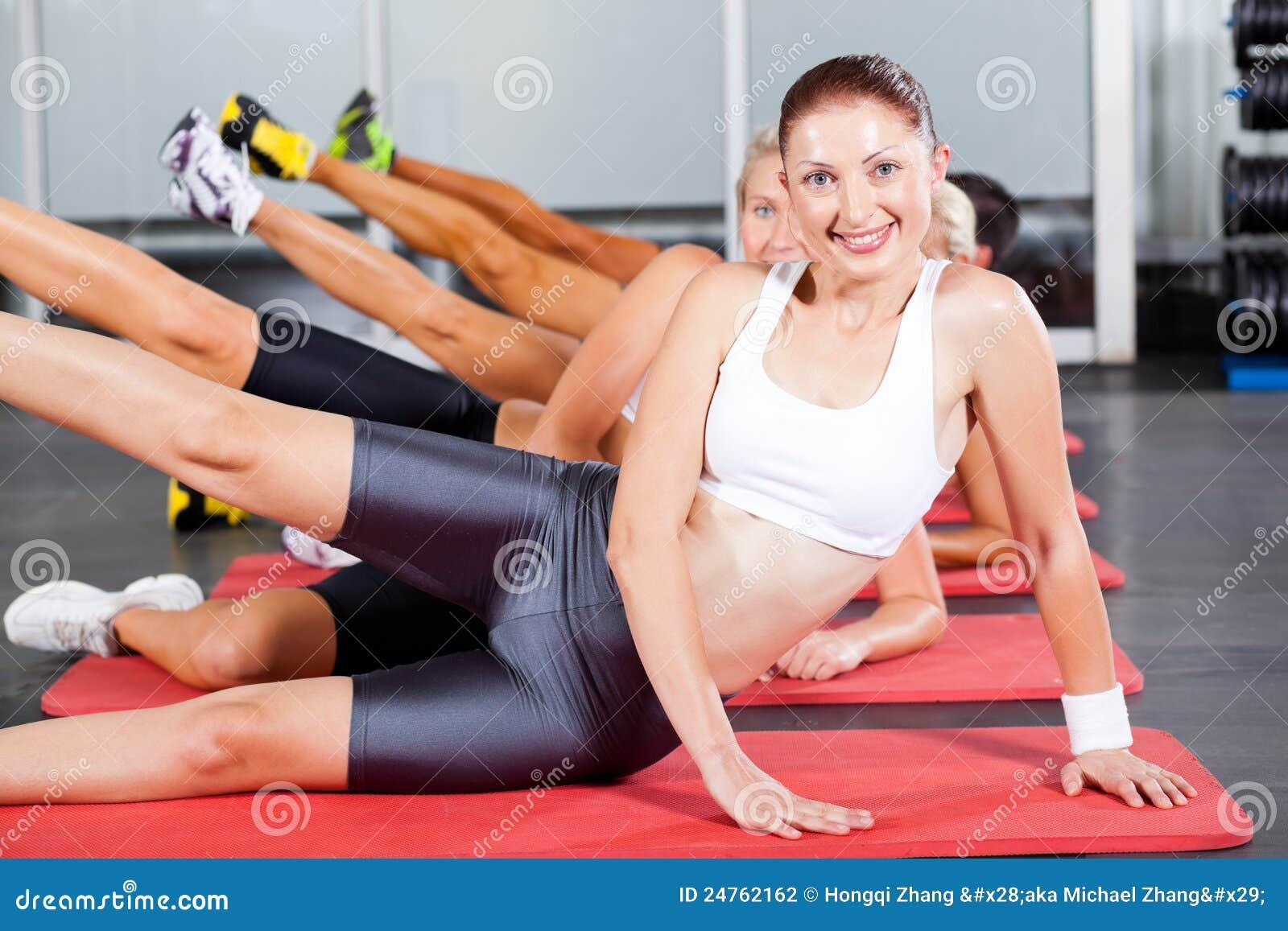 Aeróbicos de la gimnasia