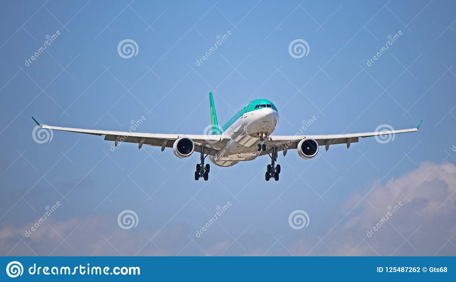 Aer Lingus Airbus A330-300 On Final Approach