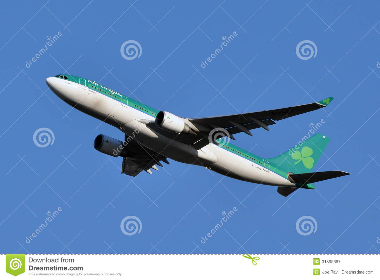 Aer Lingus Airbus A330 Taking Off