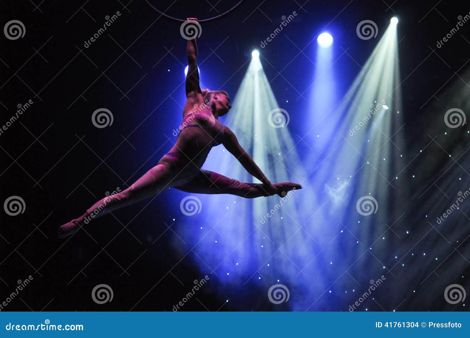Aeralist en circo