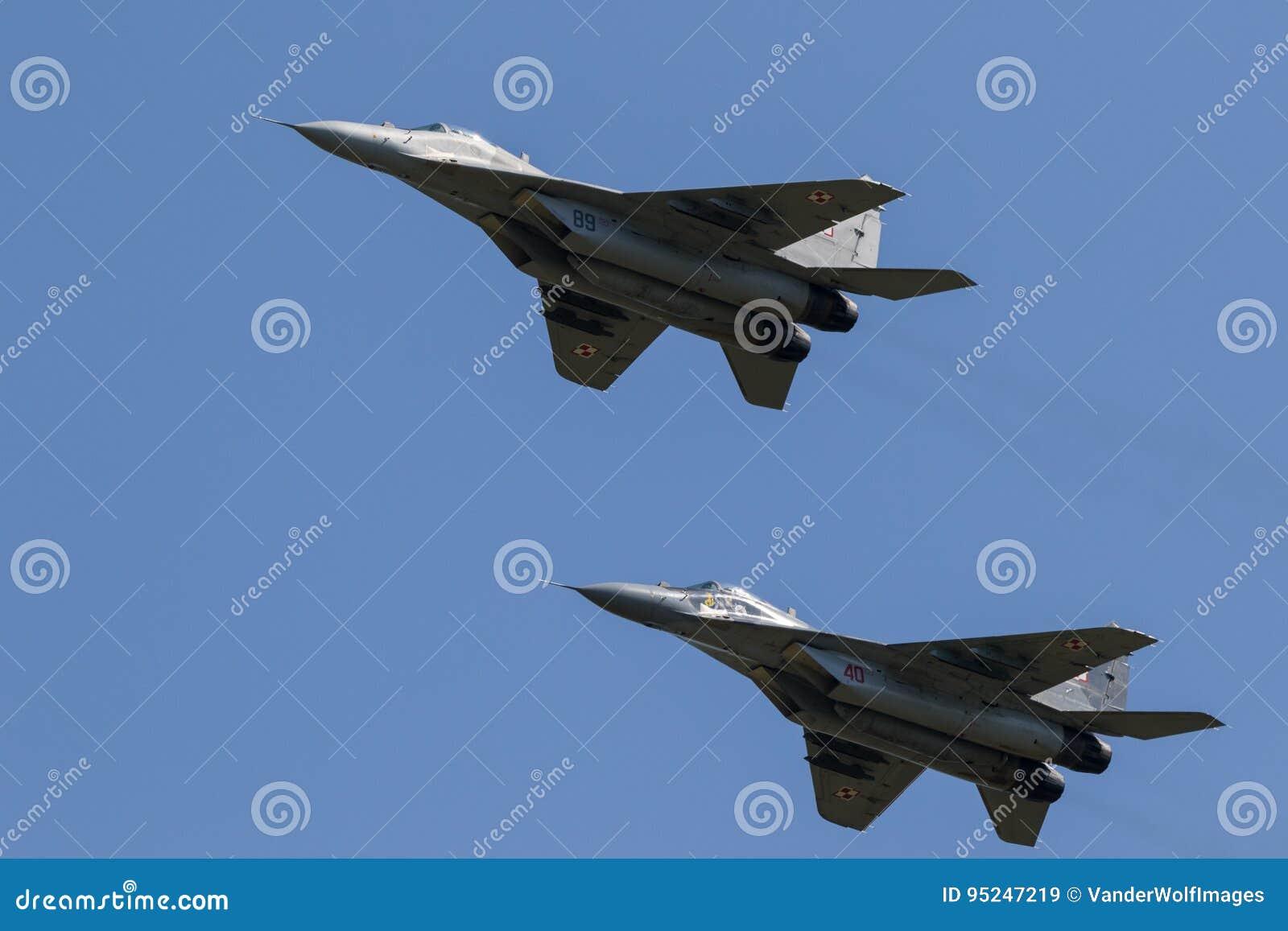 Aerei da caccia del fulcro MiG-29
