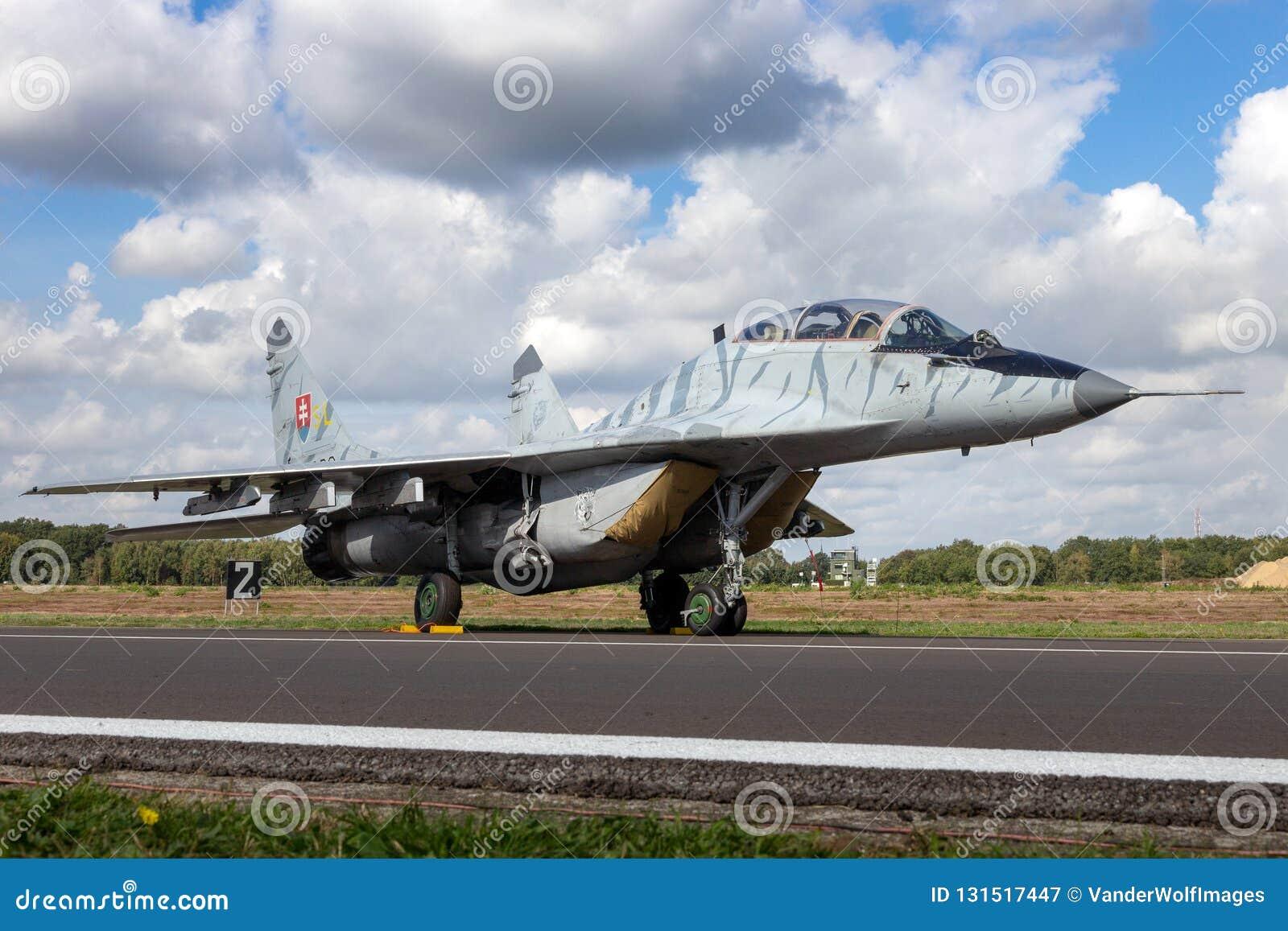 Aerei di aereo da caccia del fulcro MiG-29