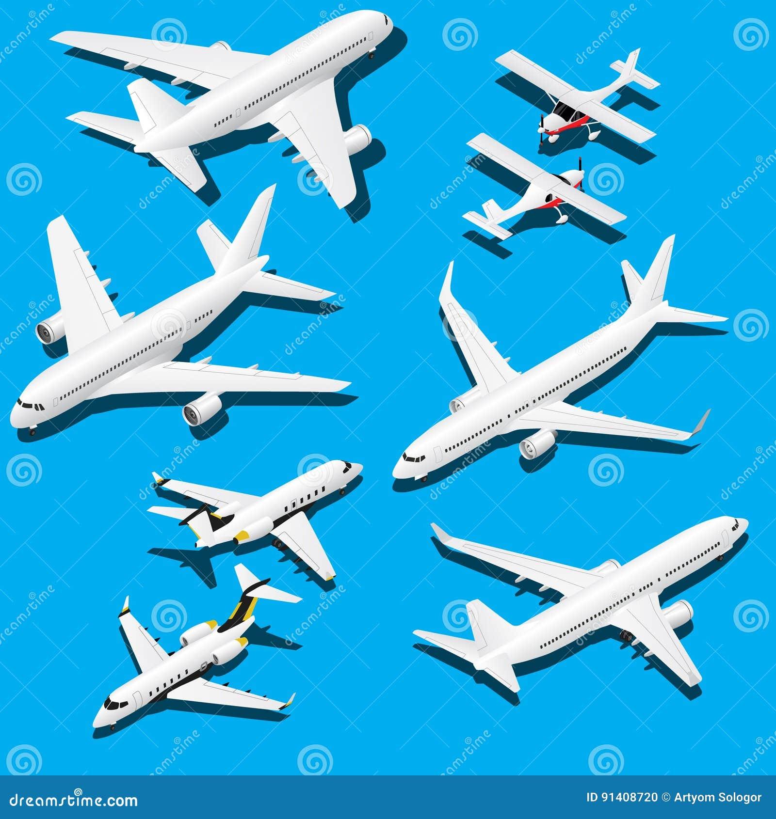 Jet Privato Rosa : Icona di vettore di un jet privato illustrazione di jet di affari