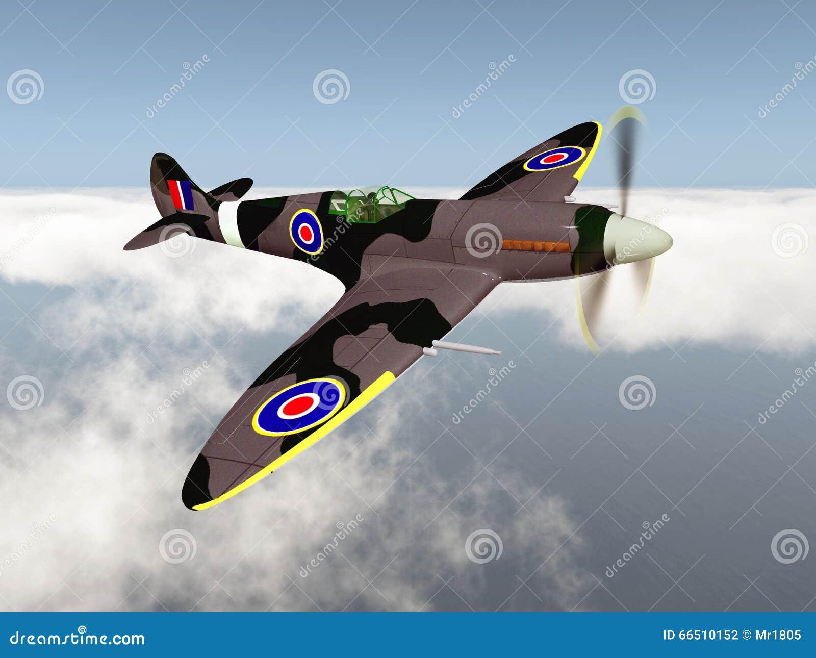 Aereo Da Combattimento Russo : Aereo da caccia britannico della seconda guerra mondiale