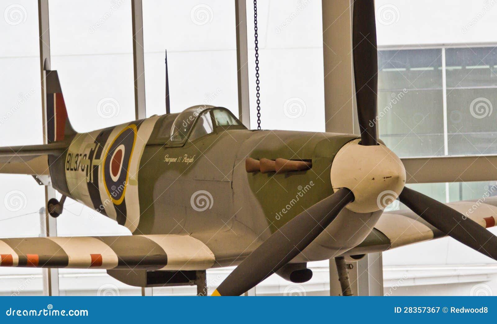 Aereo Da Guerra Caccia : Aereo da caccia delle spitfire fotografia editoriale
