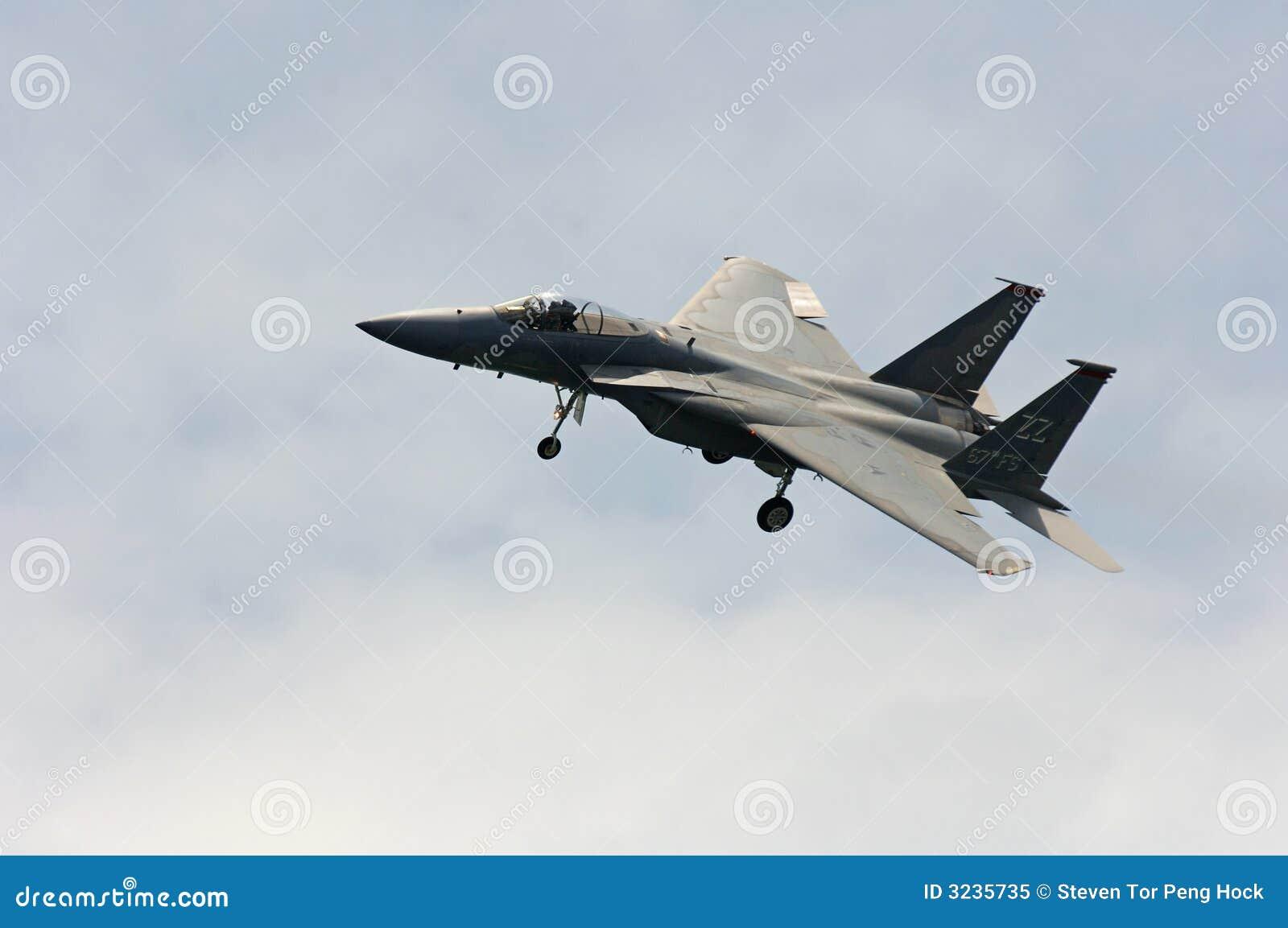 Aereo Da Caccia F15 : Aereo da caccia f fotografia stock libera diritti