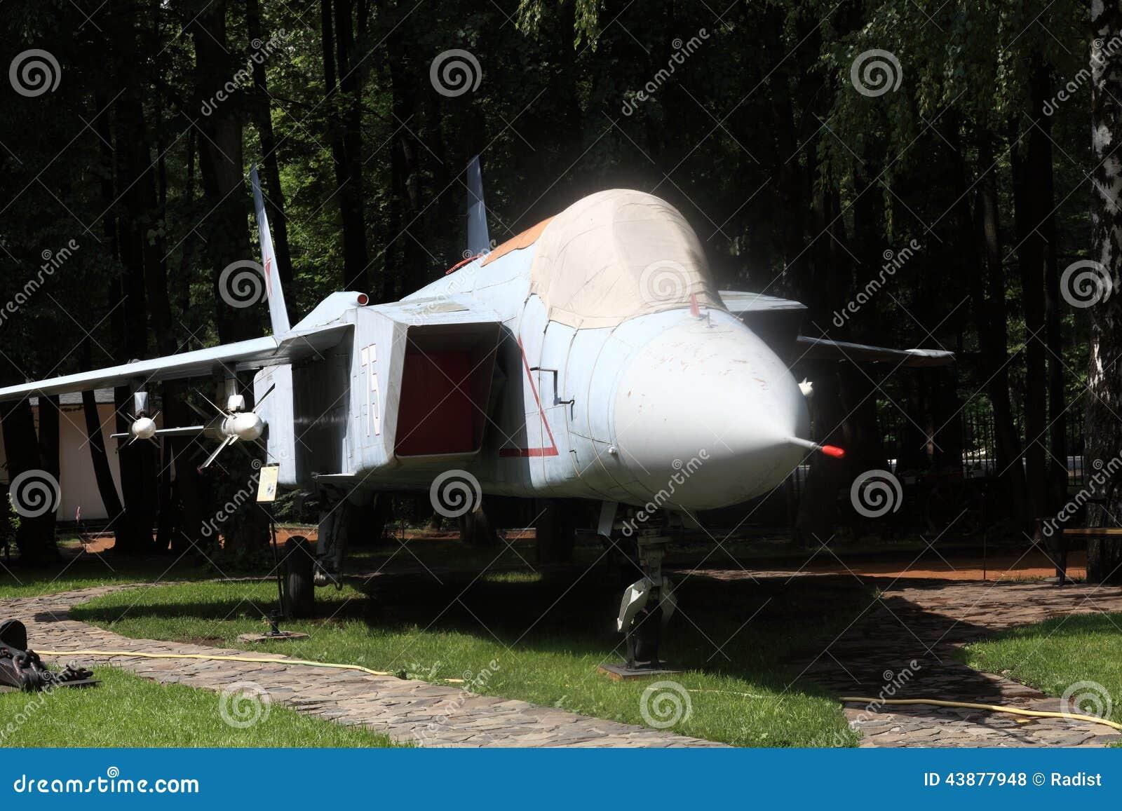 Aereo Da Caccia Russo : Aereo da caccia supersonico fotografia stock immagine di