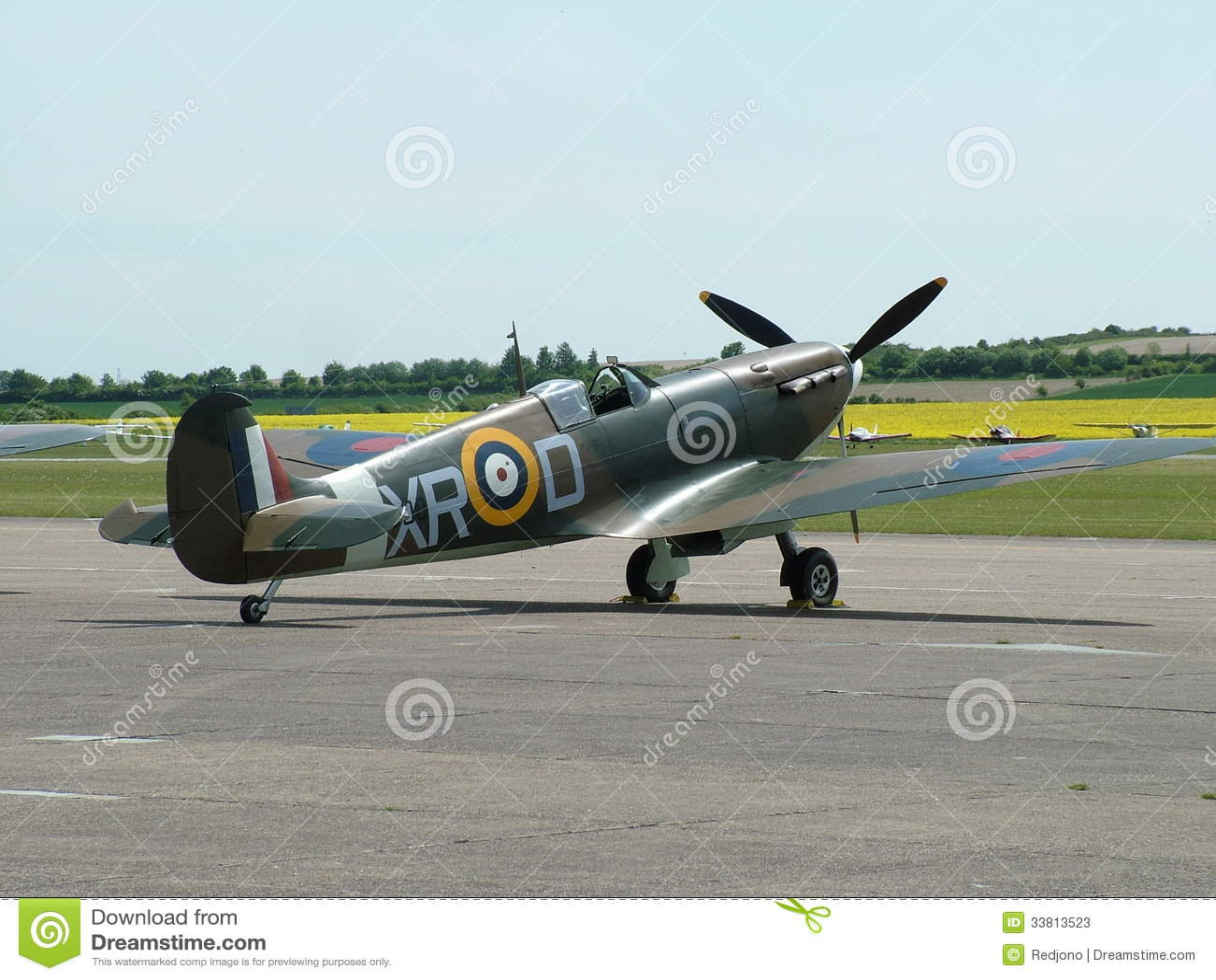 Elicottero 2 Guerra Mondiale : Aereo della seconda guerra mondiale spitfire immagine