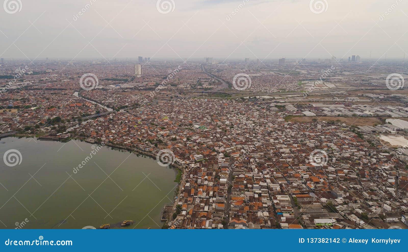 Surabaya capital city east java, indonesia