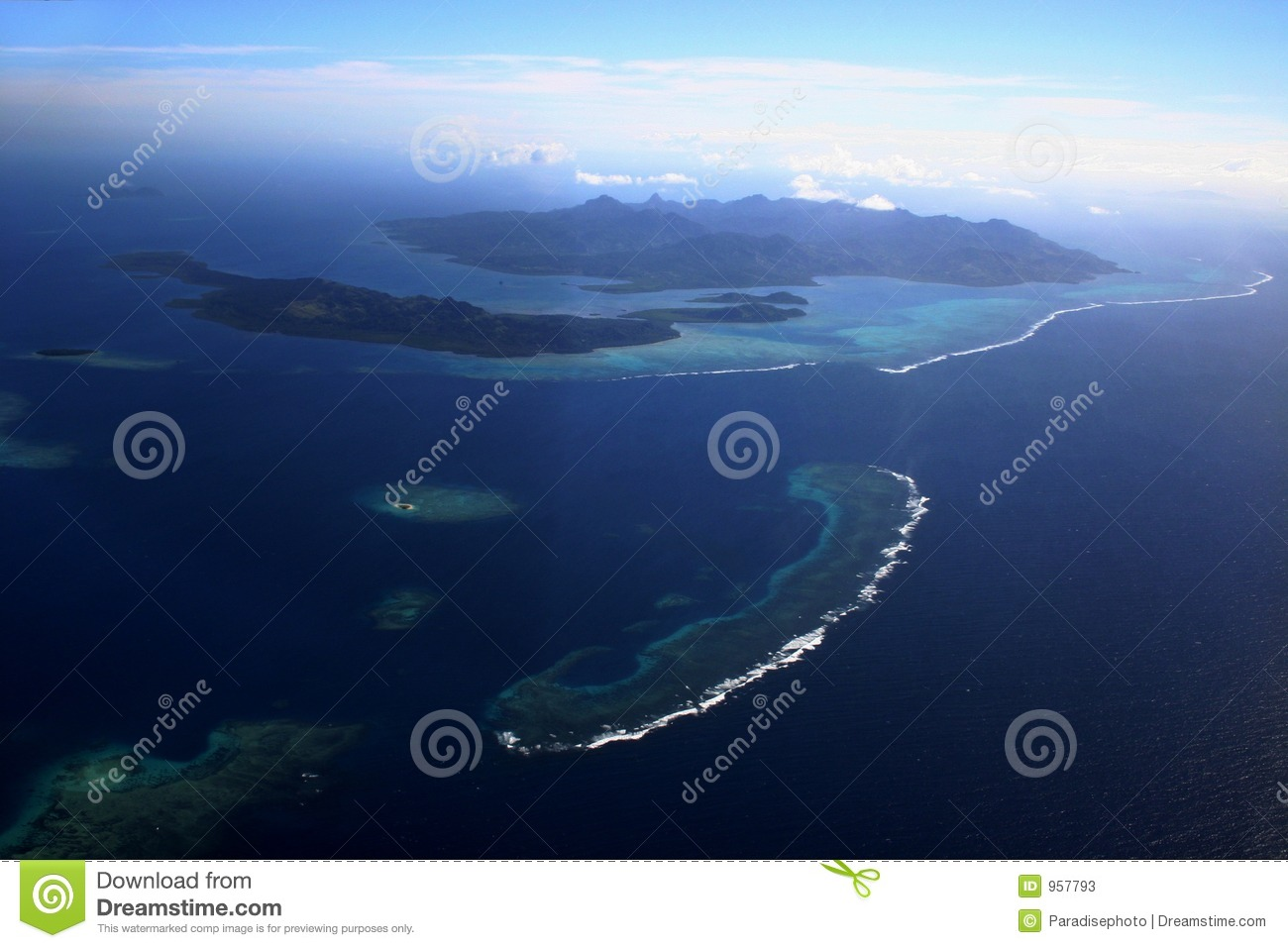 Aerial fiji three