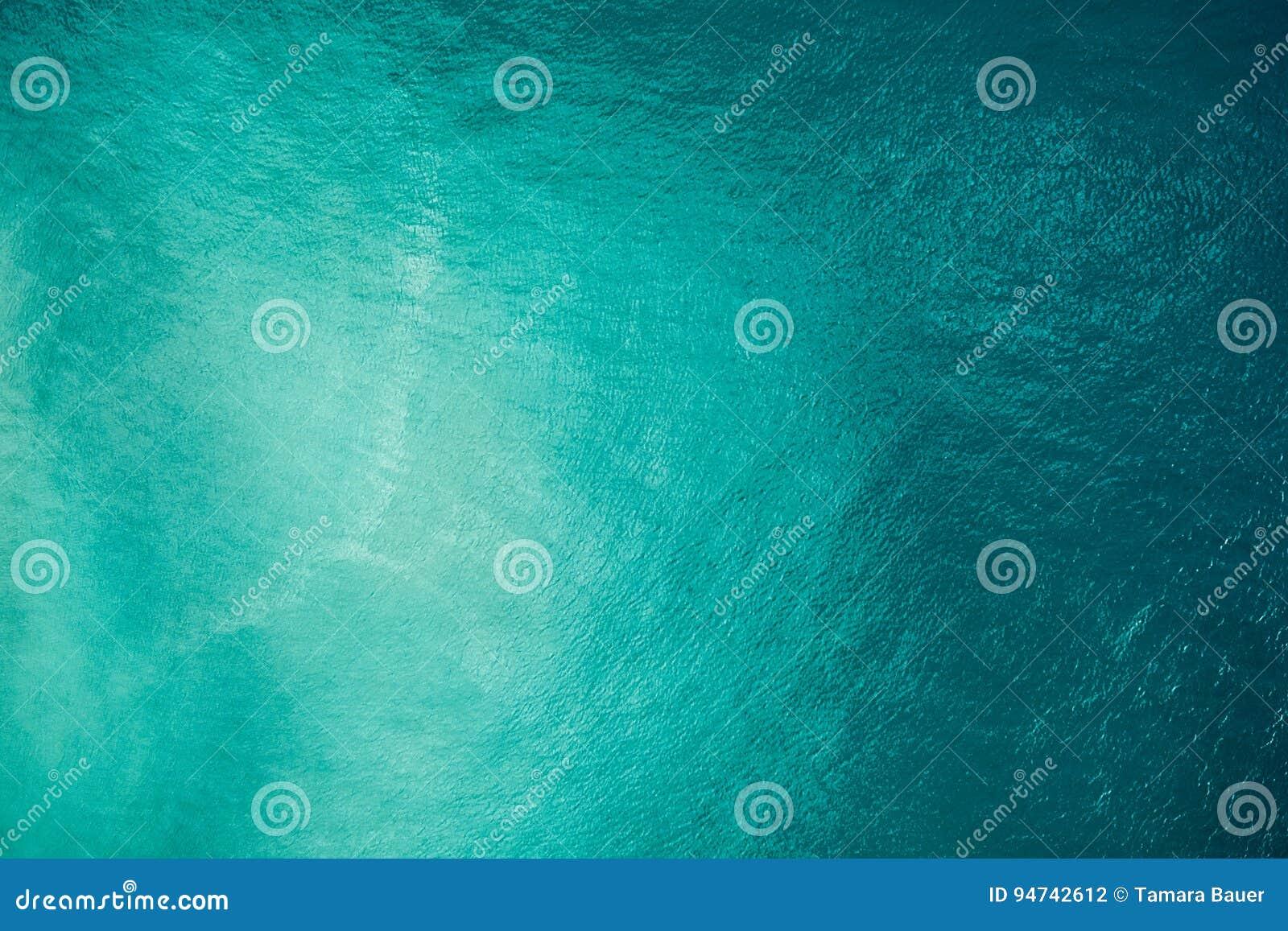 Aerial ocean view