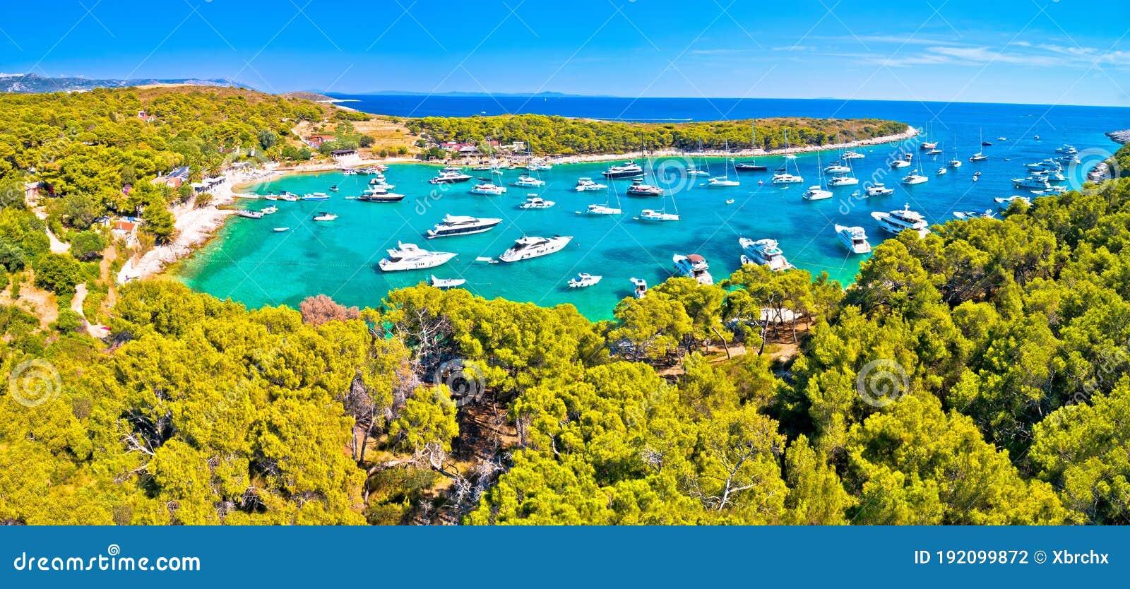 Paklinski Islands. Pakleni. Croatia Stock Photo, Royalty
