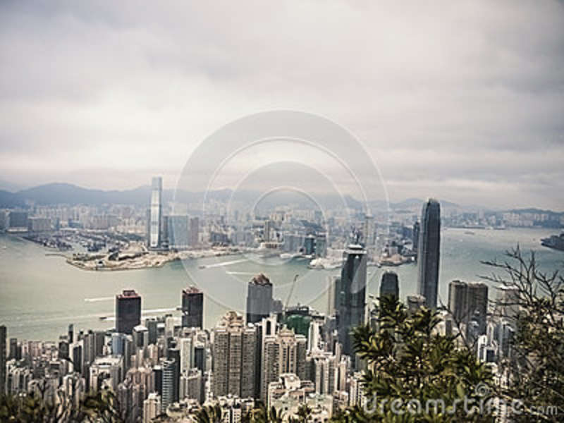 Download Aerial Photography stock photo. Image of skyscrapers - 84996728