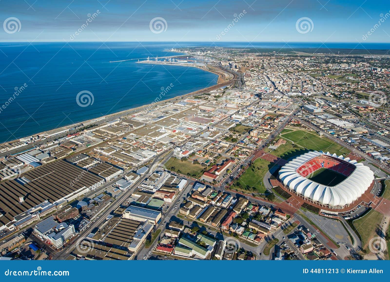 Aerial of port elizabeth south africa stock photo image - Population of port elizabeth south africa ...