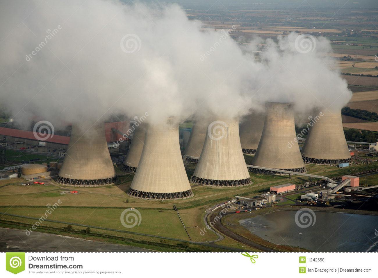 Aerial of Power Station