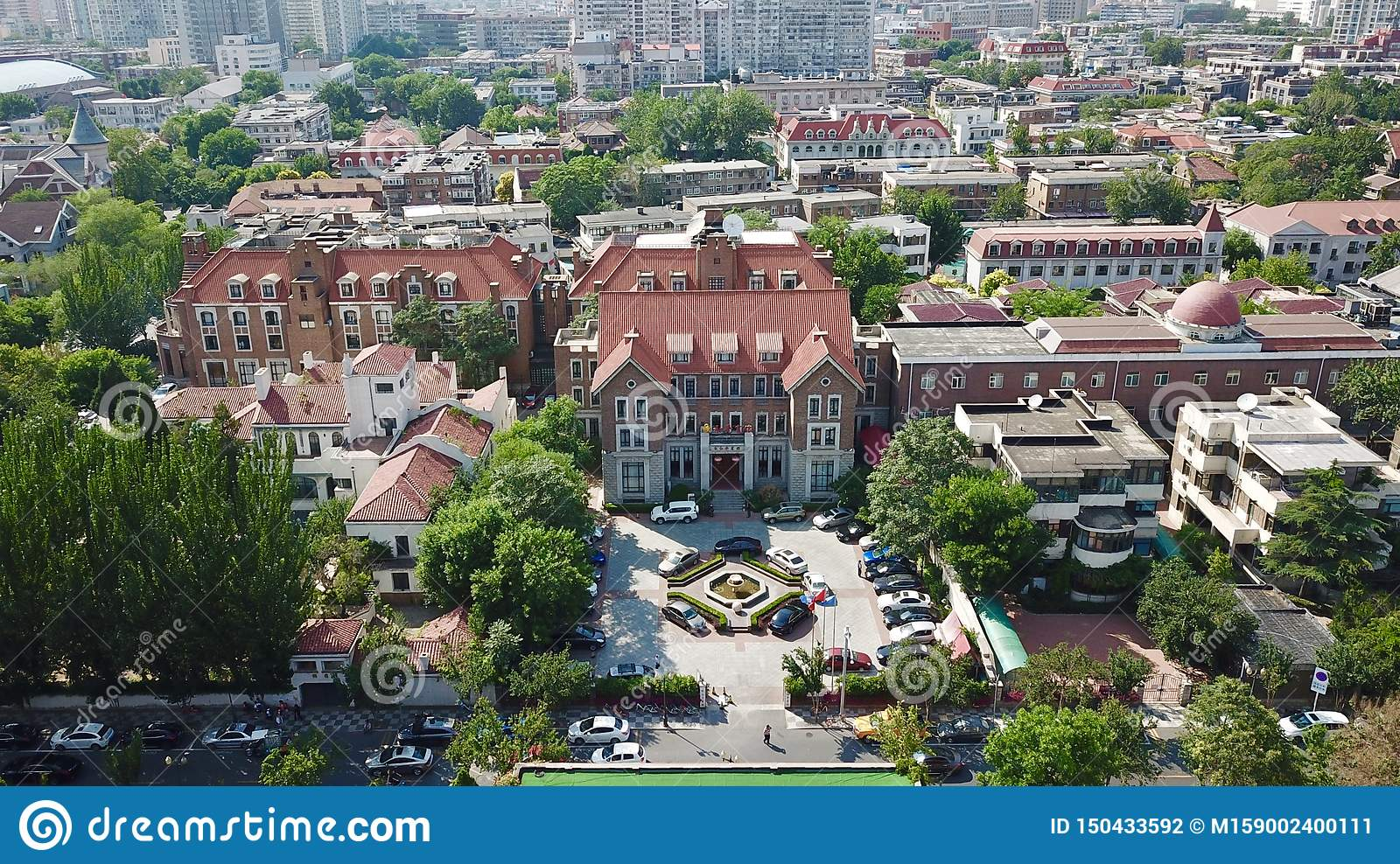 Aerial Scenery in Tianjin