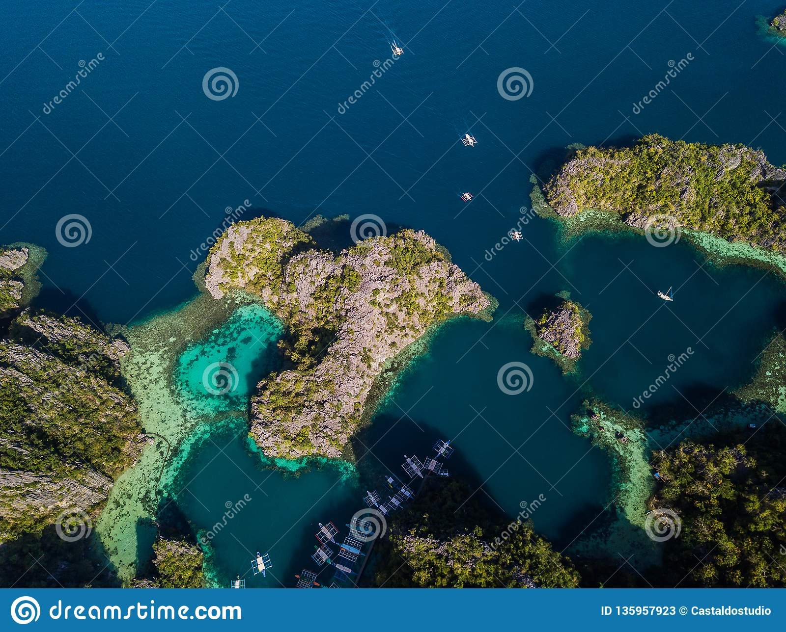 Coron Island In Palawan Philippines Stock Image Image Of