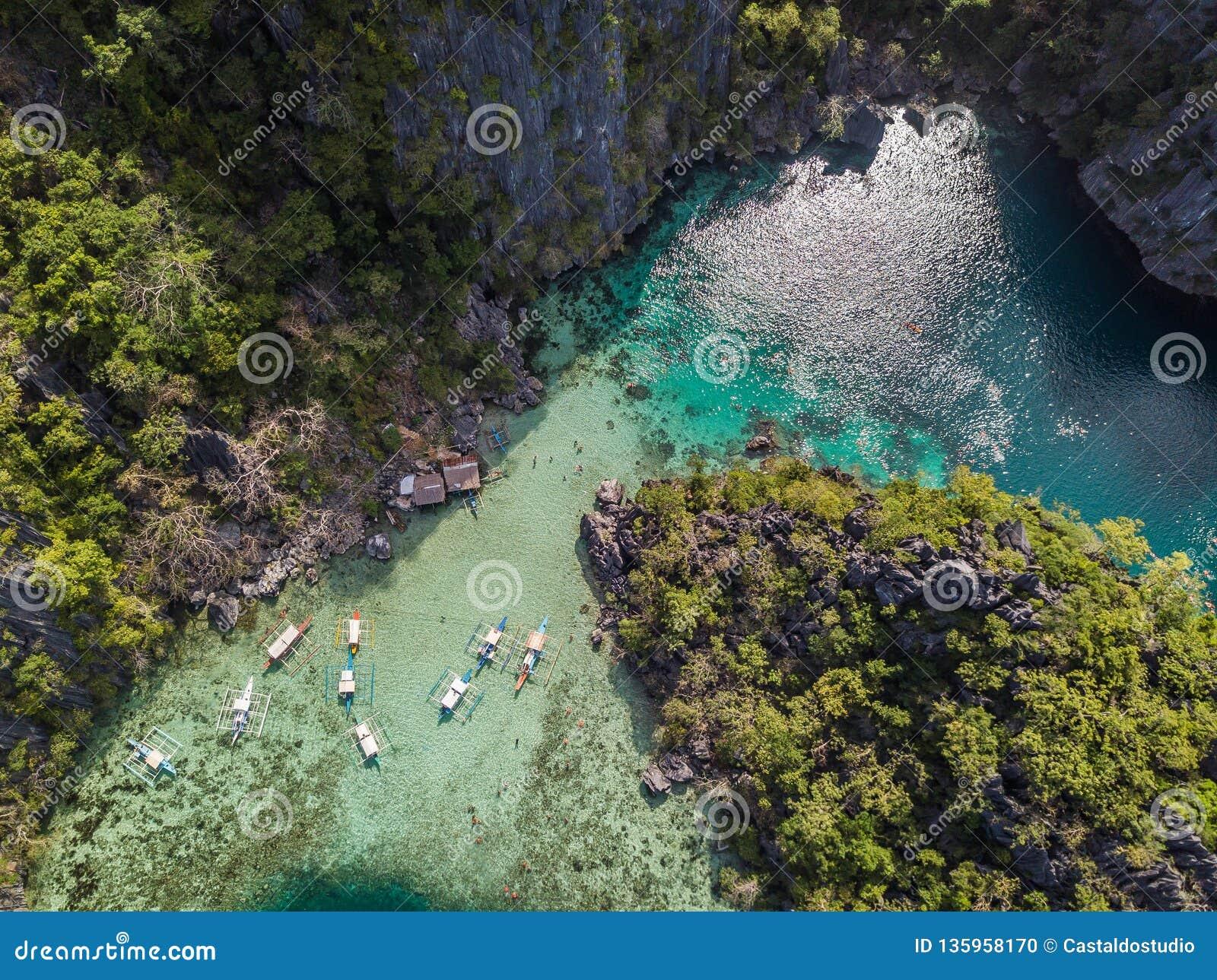 Coron Island In Palawan Philippines Stock Photo Image Of