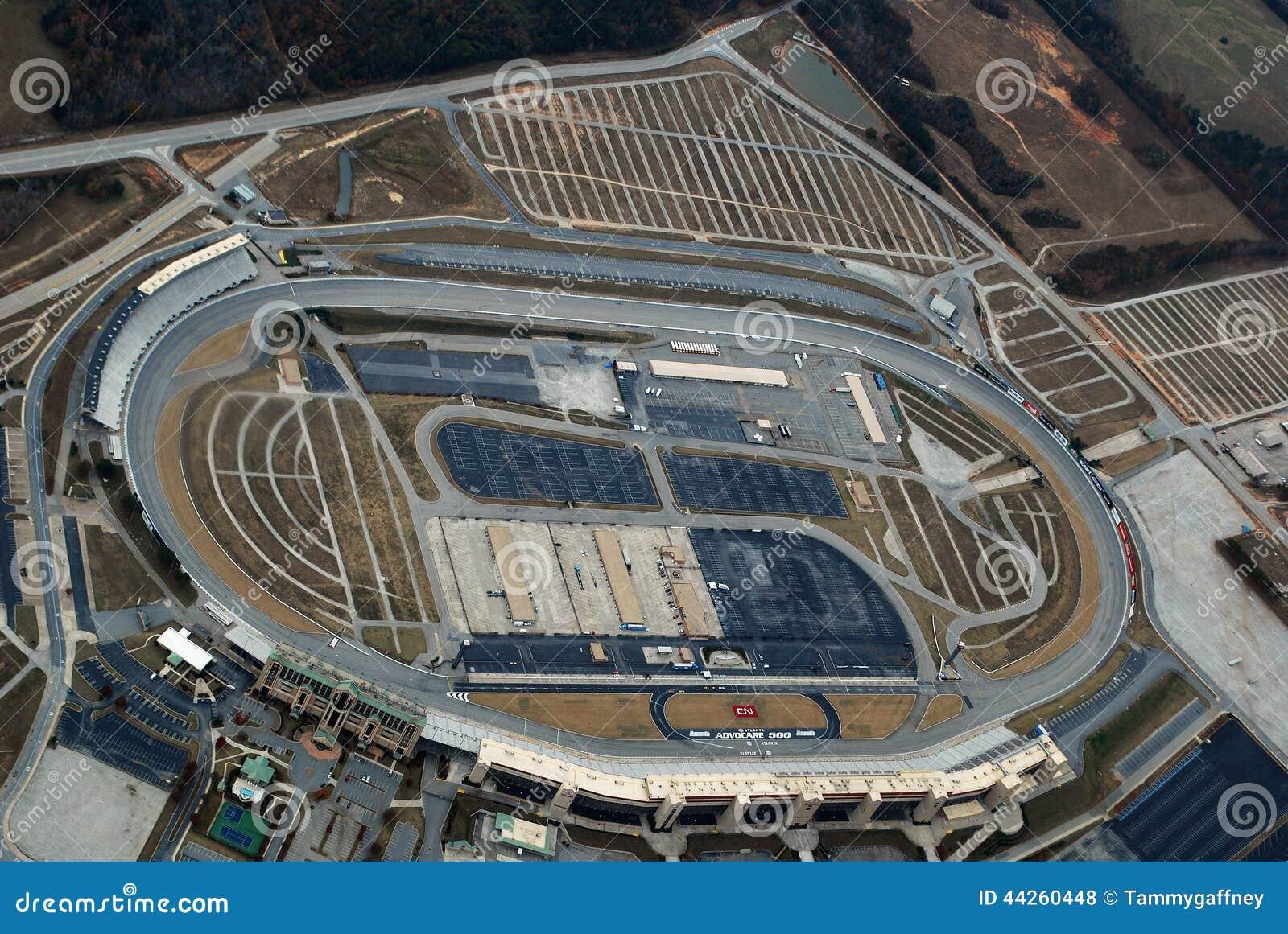 Aerial View Atlanta Motor Speedway Editorial Stock Photo